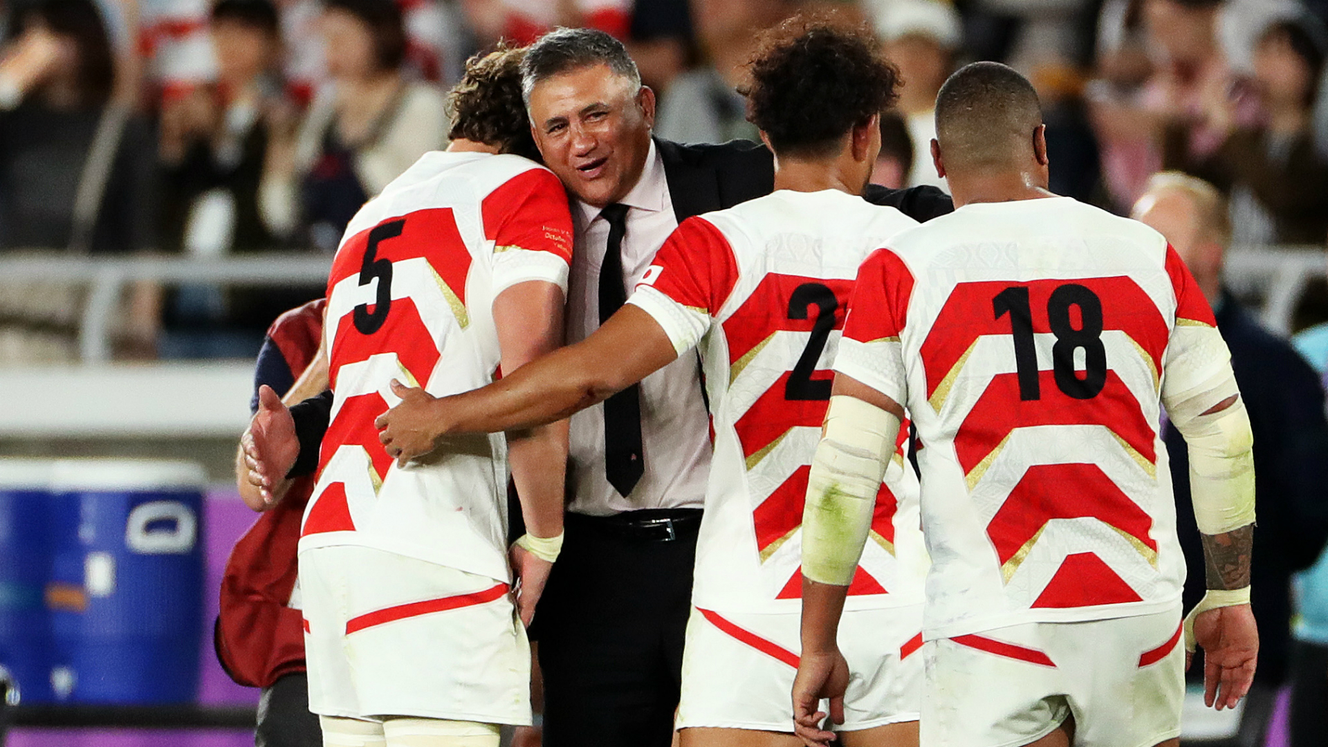 Rugby World Cup 2019: Japan heroes motivated after typhoon disaster