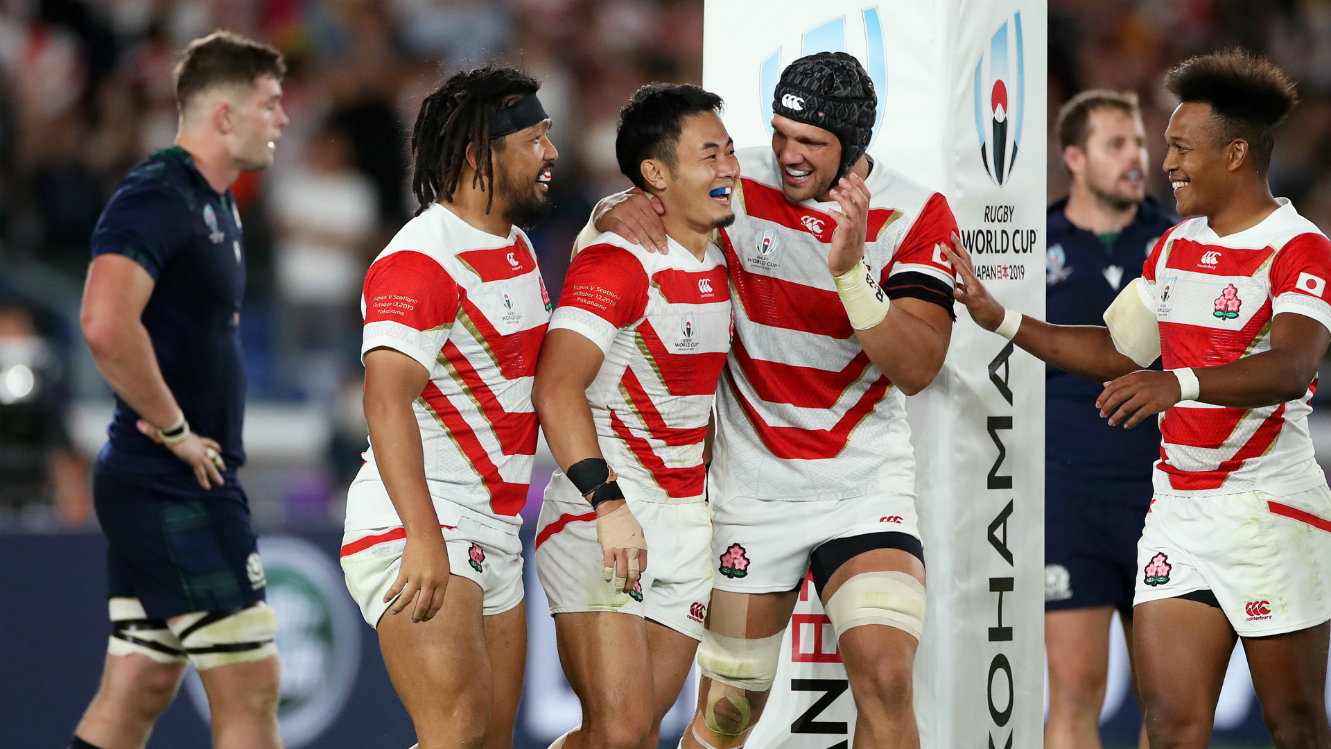 Rugby World Cup 2019: Japan 28-21 Scotland