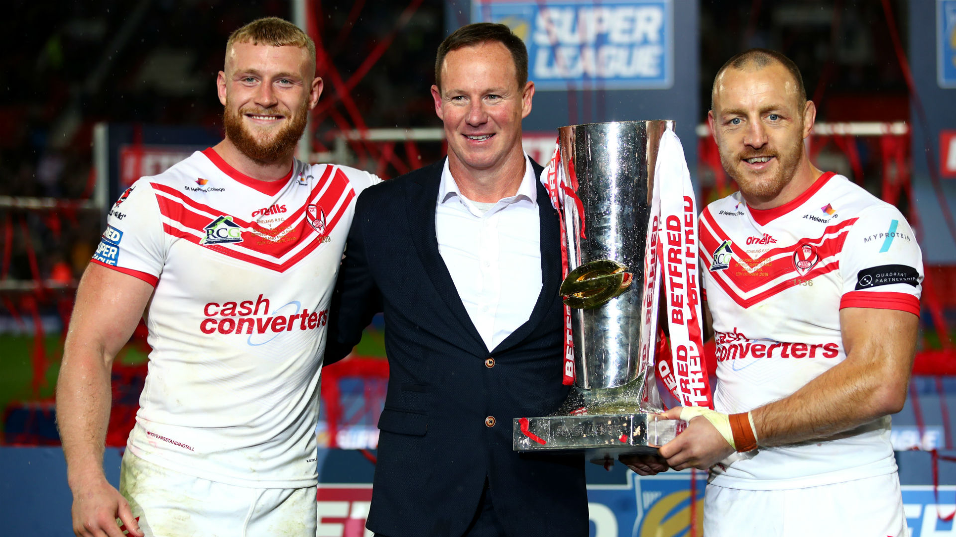 We had to deliver and we did - Holbrook hails victorious Saints