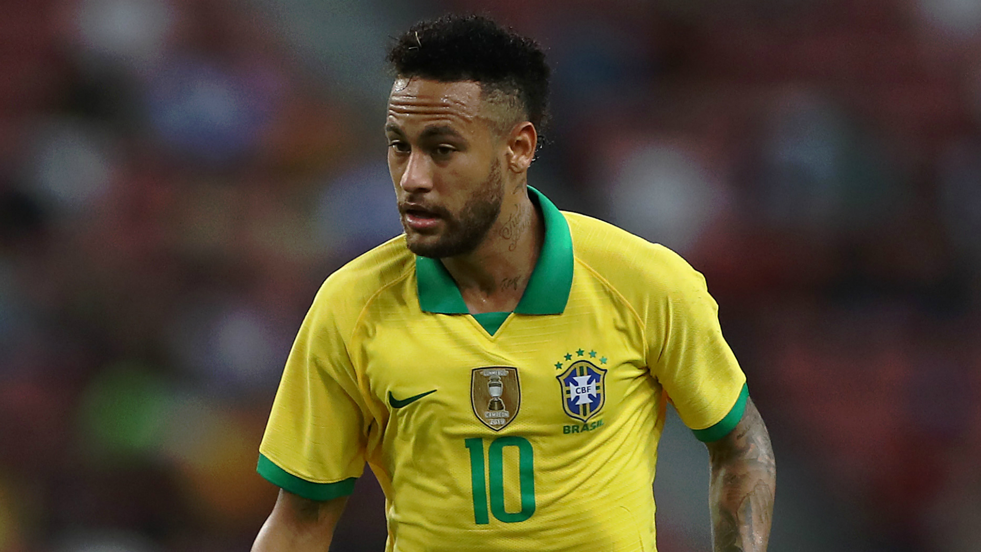 Injury scare for Neymar as Brazil star makes early exit against Nigeria