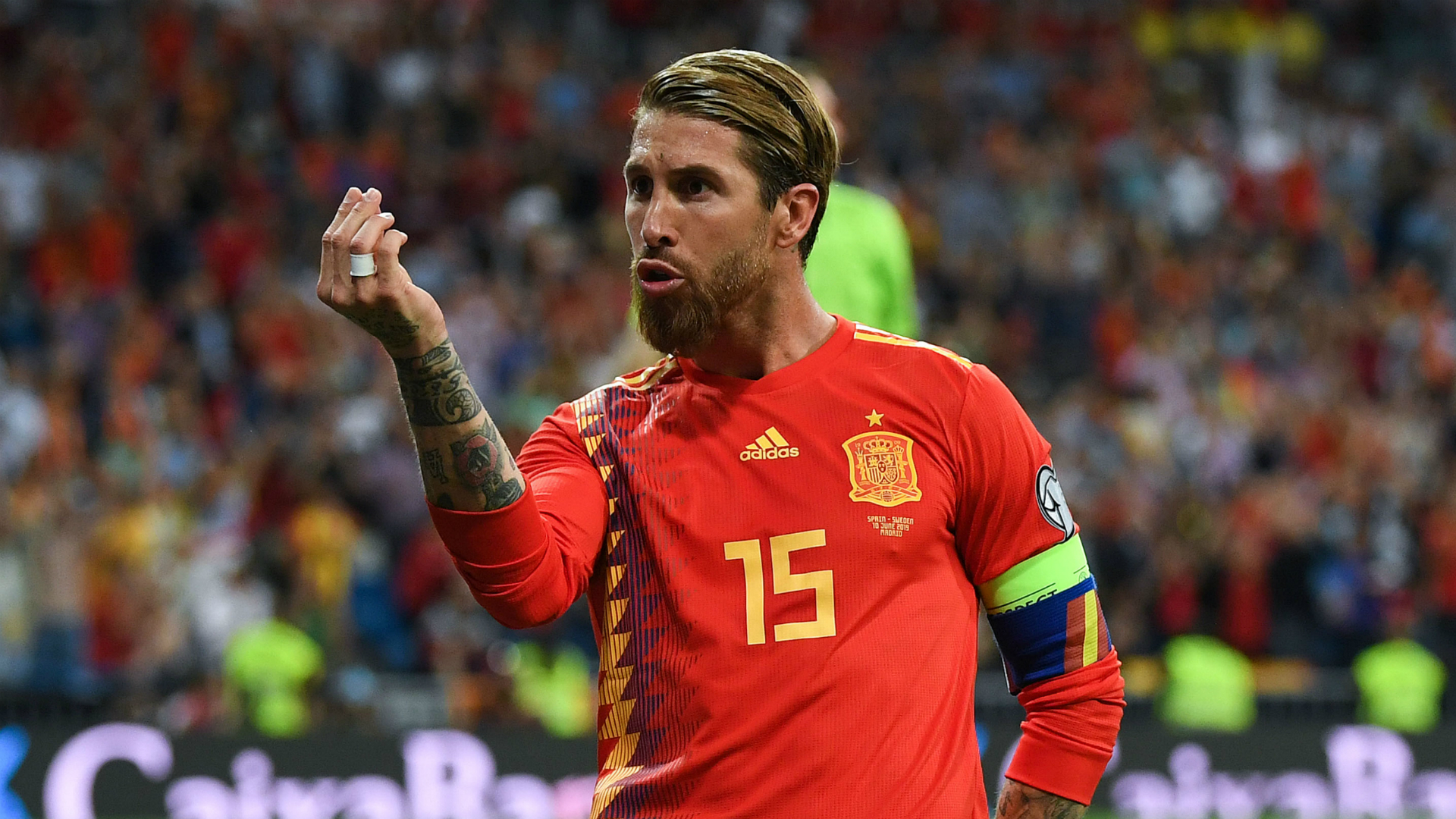 Spain coach Moreno hails record-breaking Ramos