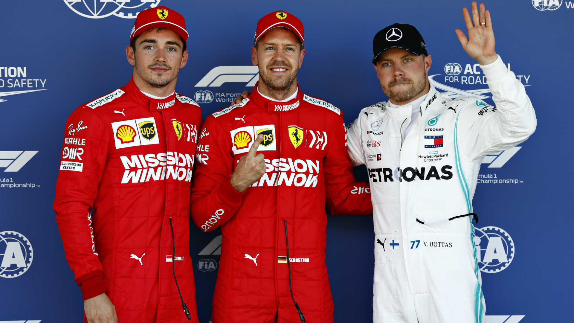 Vettel claims Suzuka pole as Ferrari secure front-row lockout