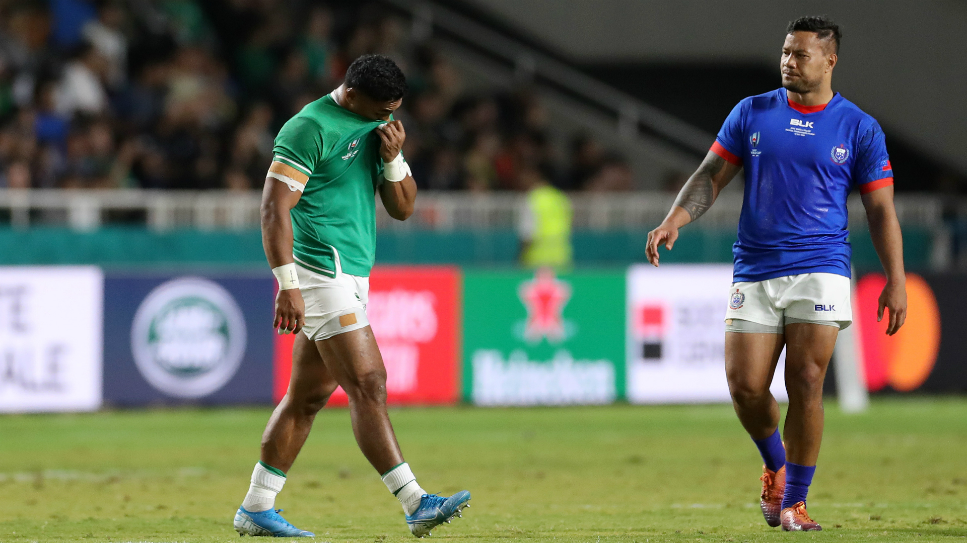 Rugby World Cup 2019: Ireland Aki to play no further part in Japan after three-week ban