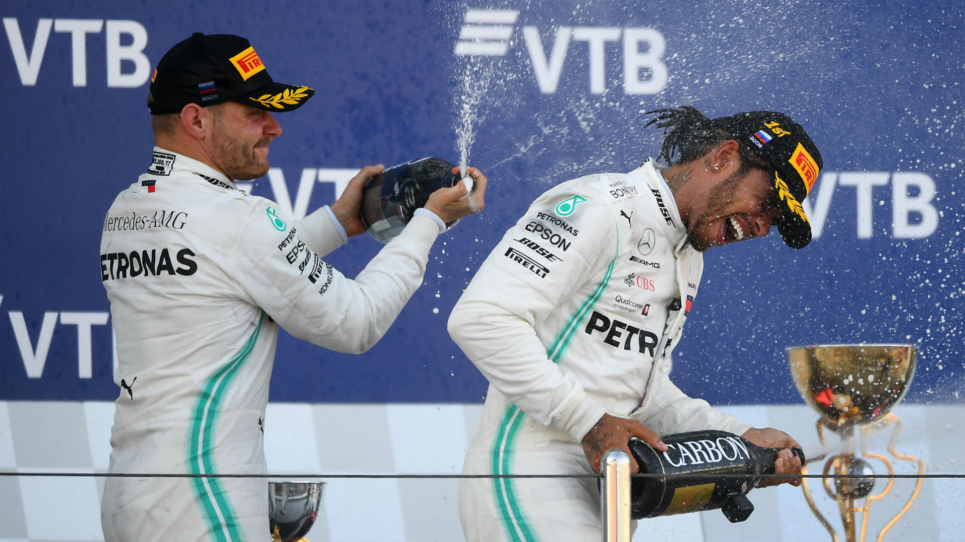 Wolff defends Mercedes' Hamilton strategy after Bottas' victory in Japan