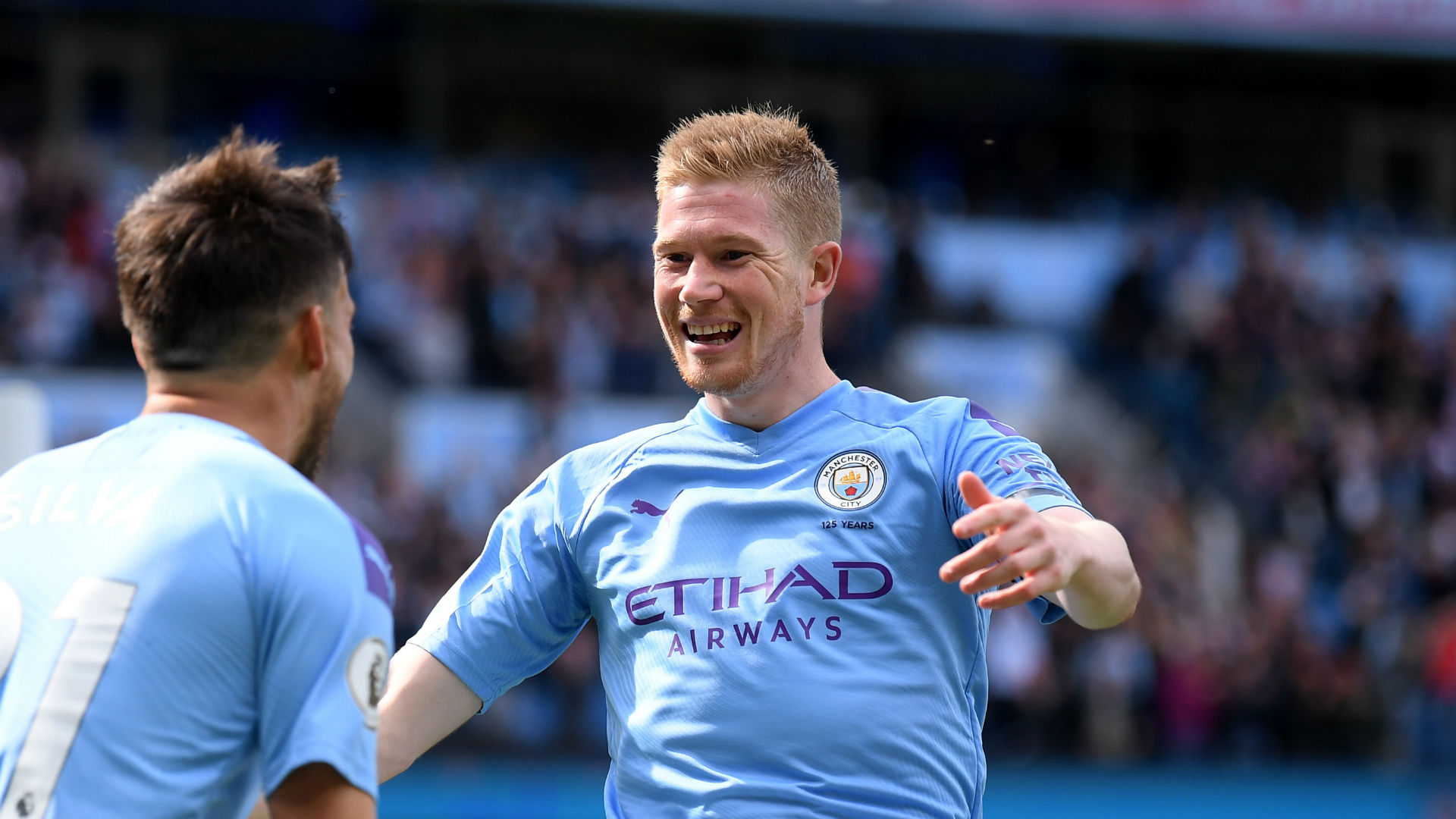 De Bruyne and Stones hand Guardiola fitness boost
