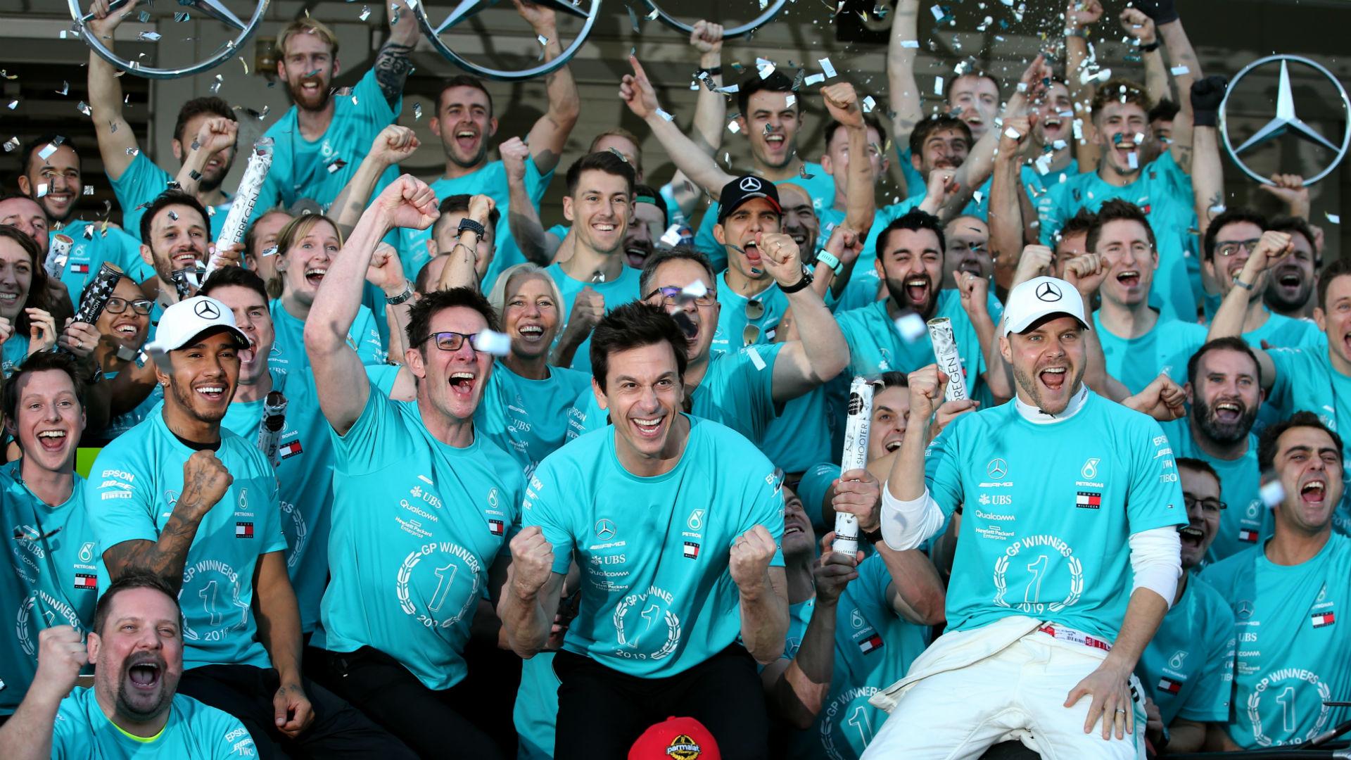 F1 Raceweek: The joy of six - how Mercedes broke constructors' record