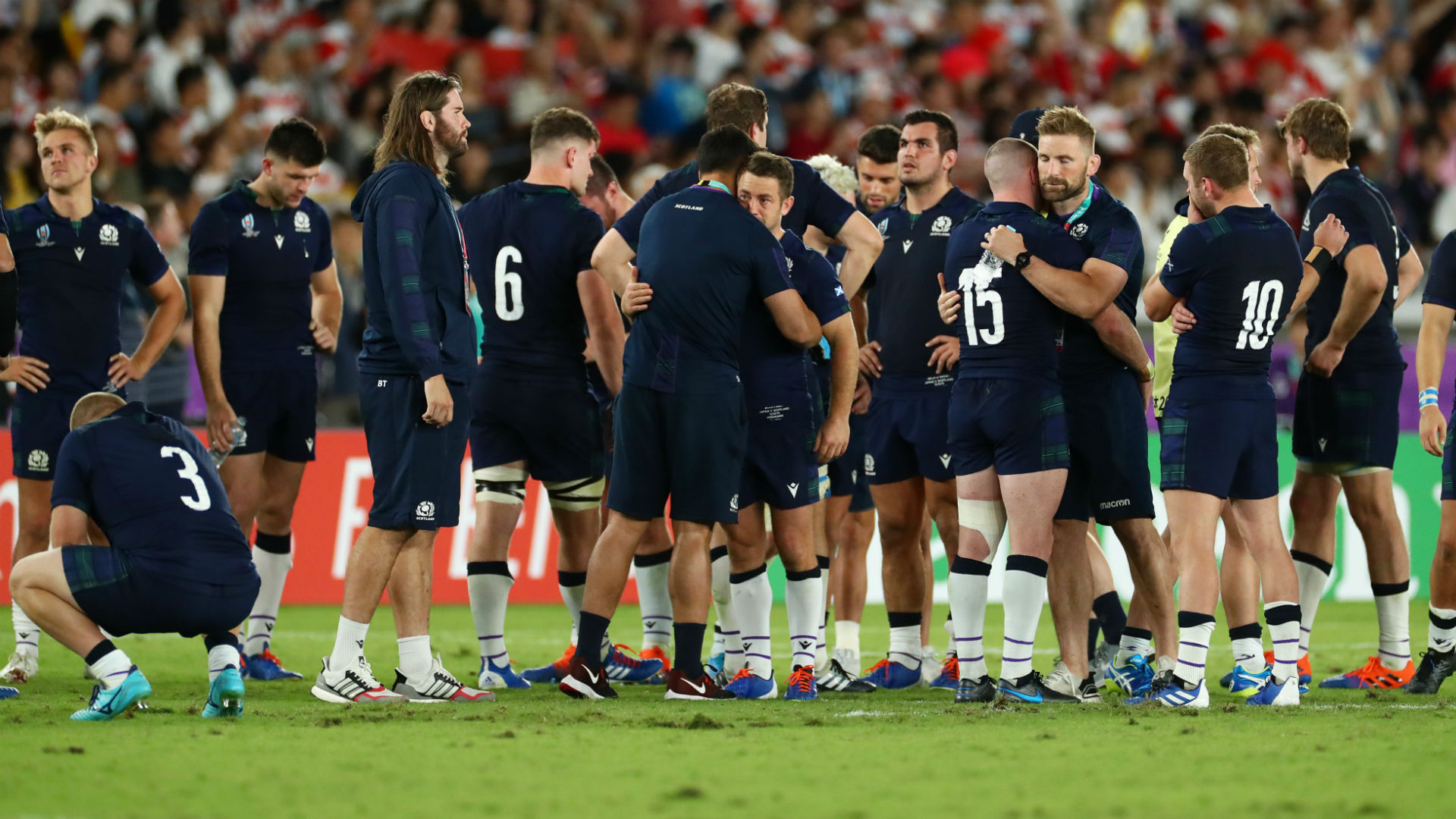 Rugby World Cup 2019: Scottish Rugby Union charged over legal-action threat
