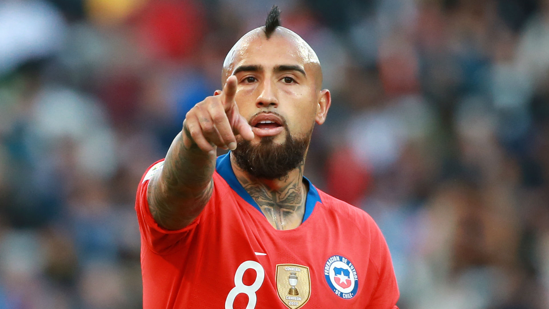 Vidal sees room for improvement after Chile win