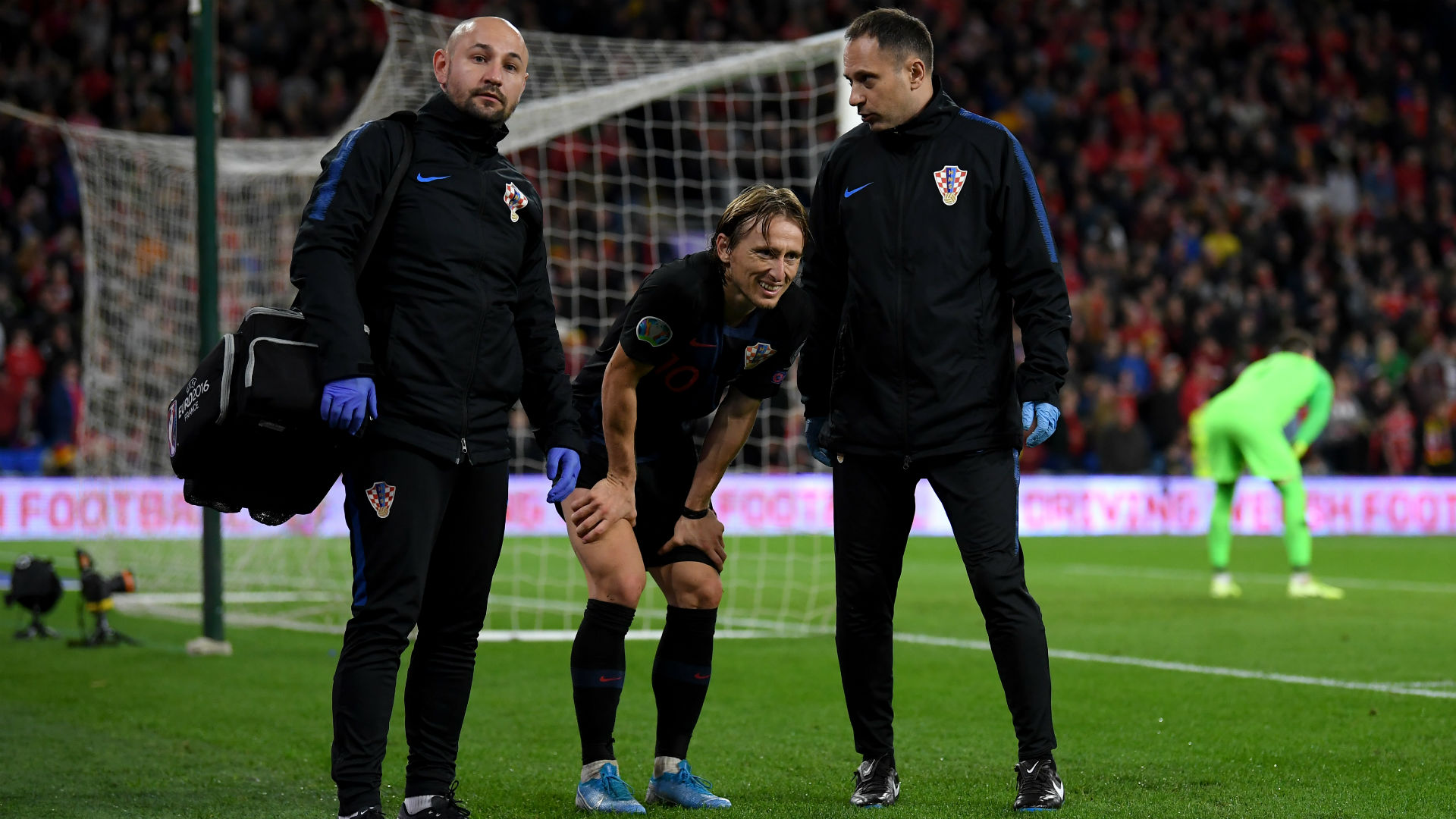 Real Madrid confirm muscle bruising for injured Modric