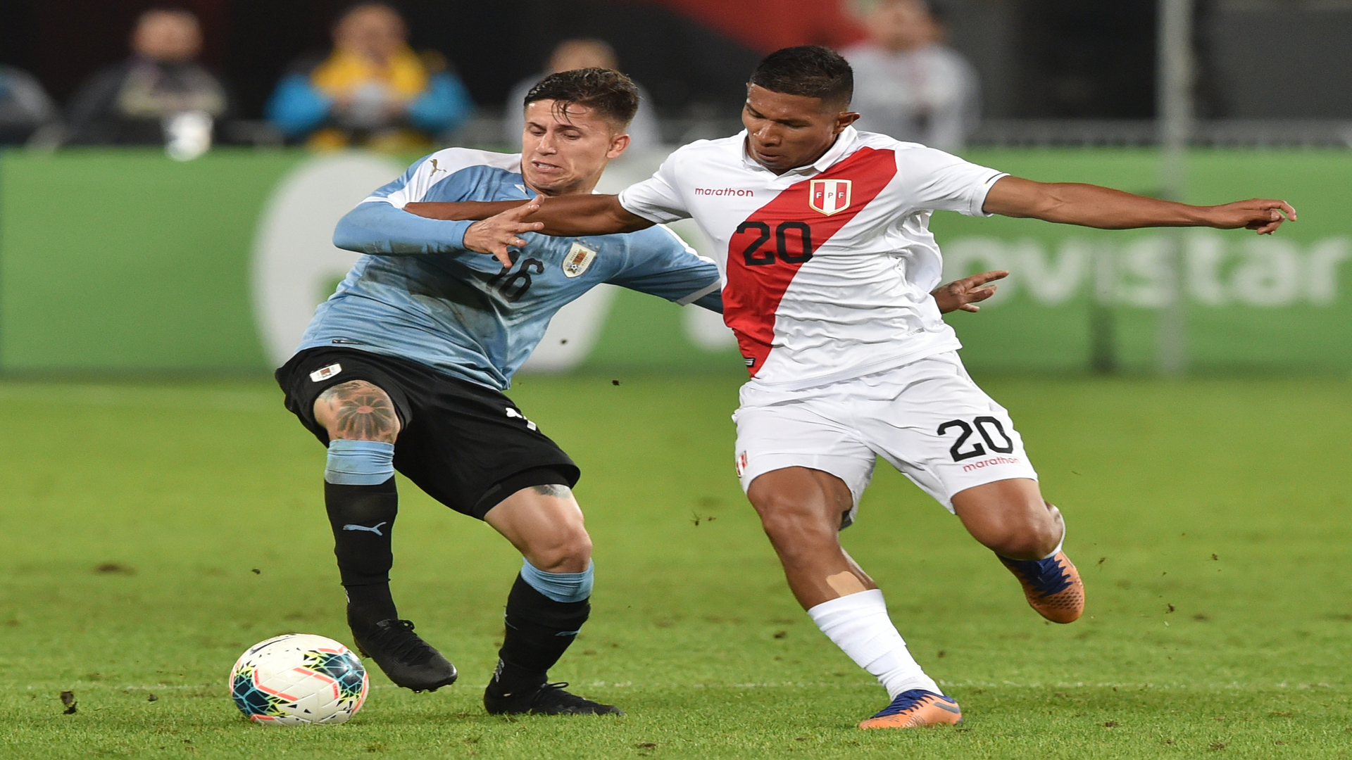 Peru 1-1 Uruguay: Debutant Nunez rescues late draw for 10-man visitors