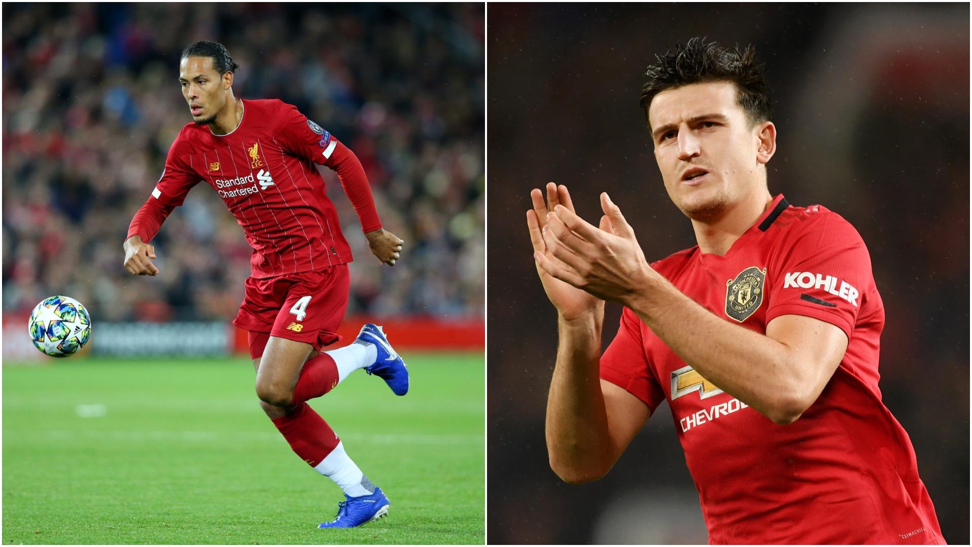 Manchester United v Liverpool: How does Maguire stack up against Van Dijk?