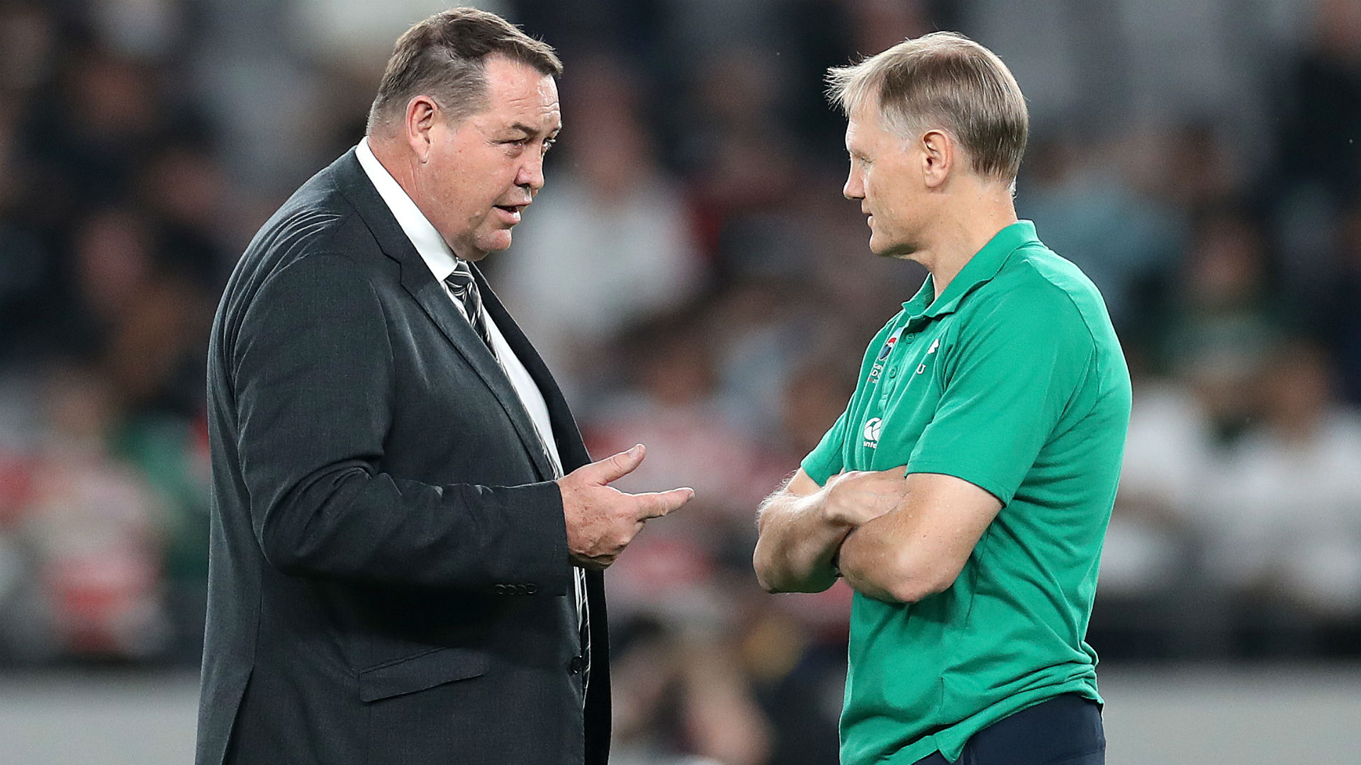 Rugby World Cup 2019: Hansen praises Schmidt and Best after 'magnificent careers' with Ireland