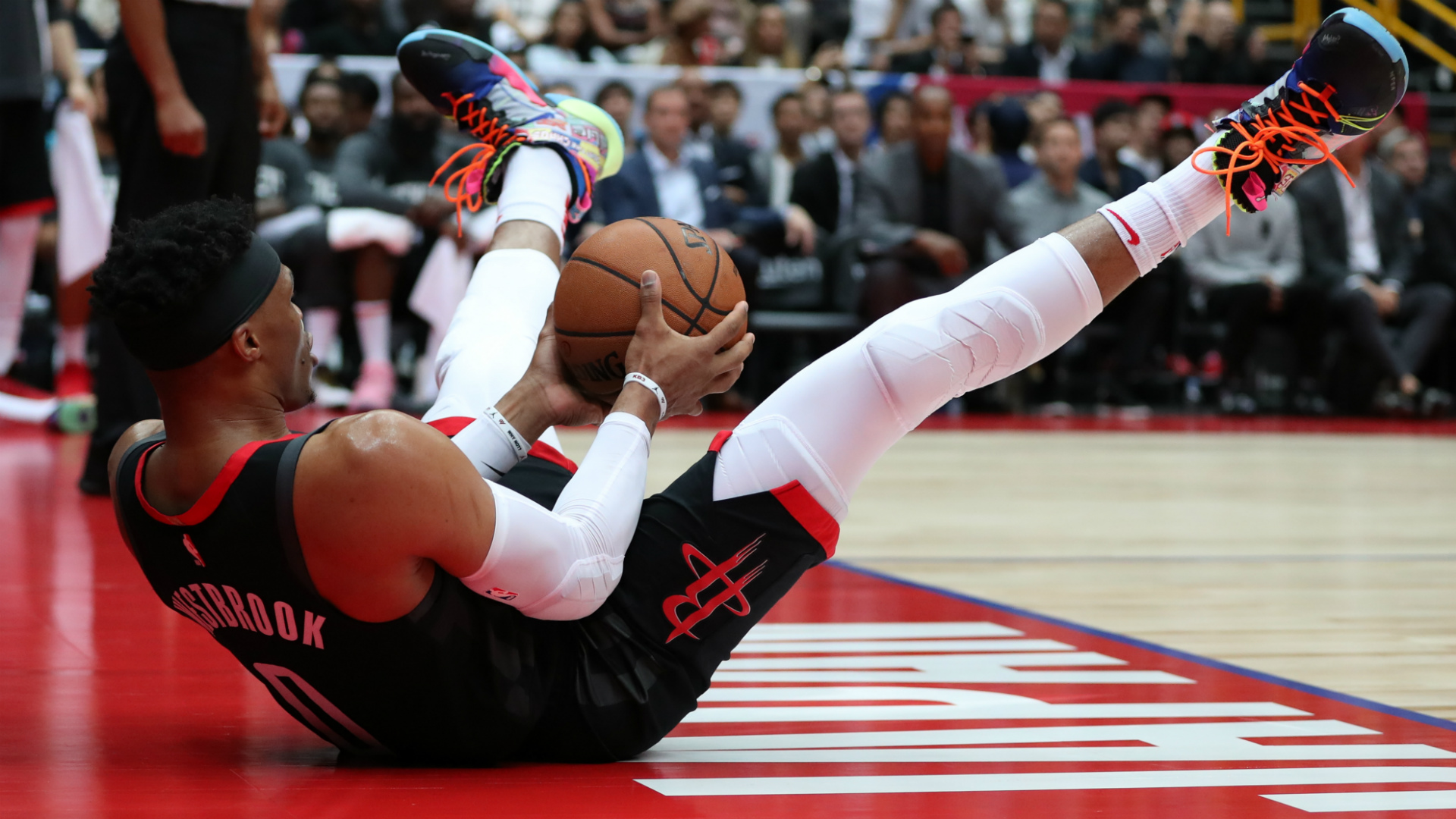 Rockets positive after Westbrook scare as 'ridiculous' Harden stuns D'Antoni