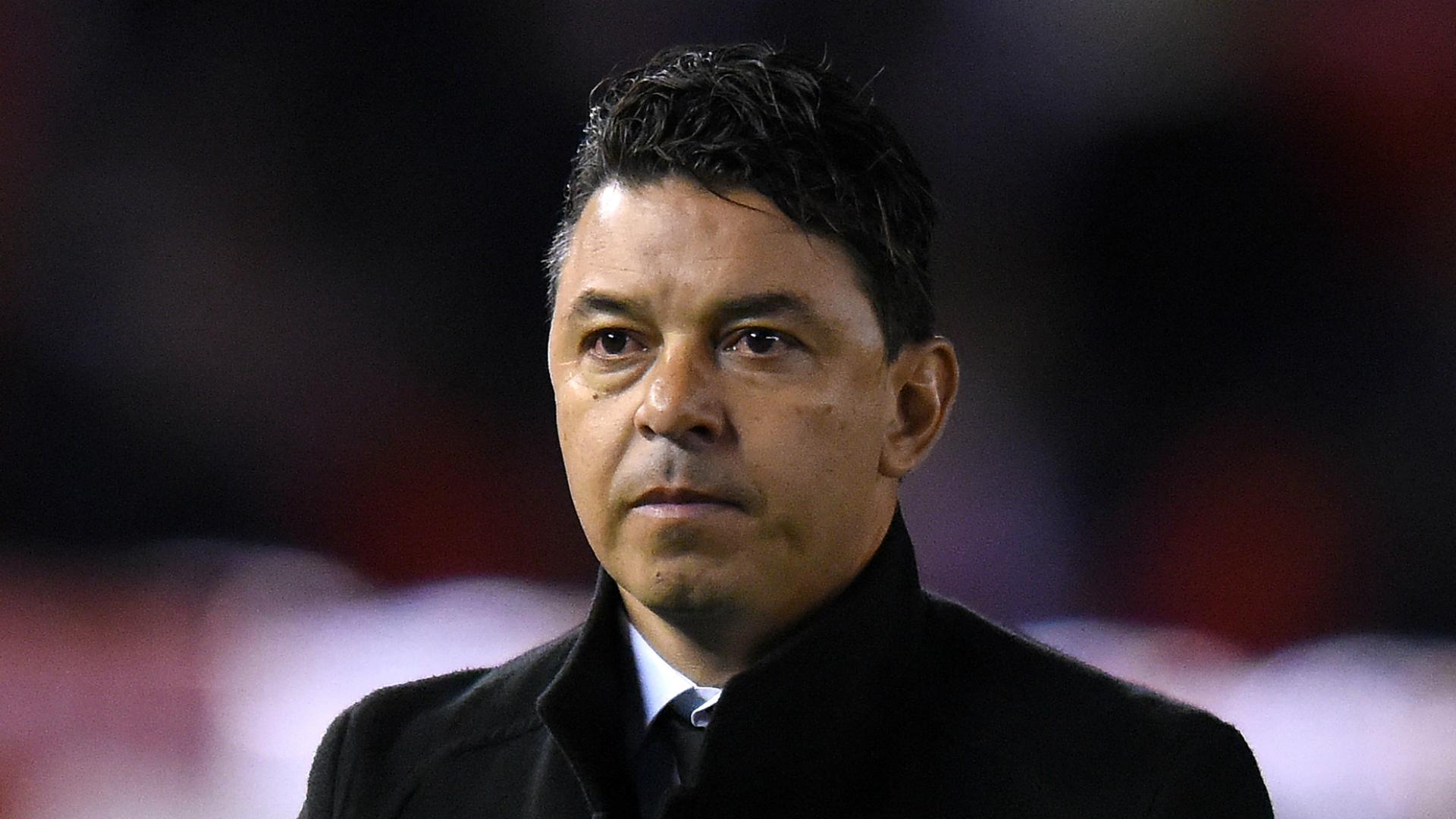 River boss Gallardo dismisses Boca protests after first-leg Libertadores win