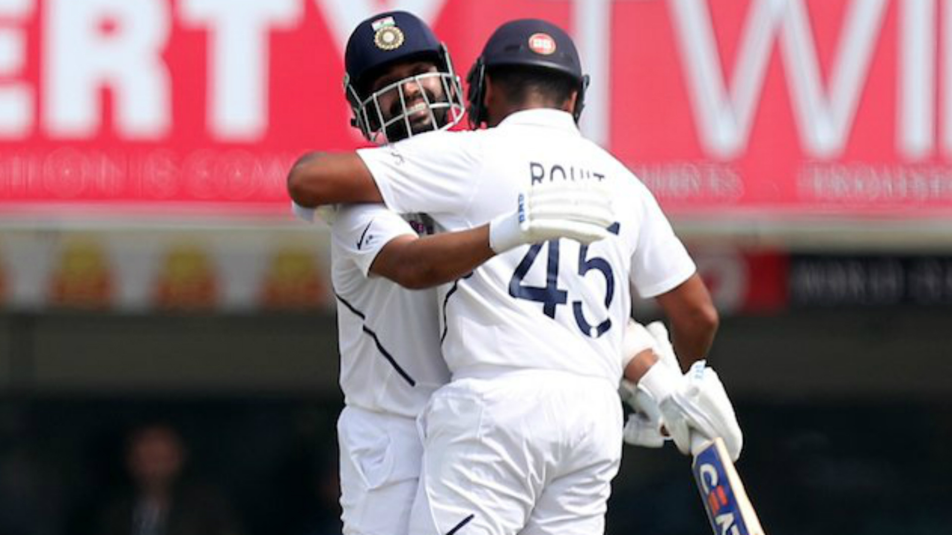 Rohit completes first Test double hundred as India take complete control