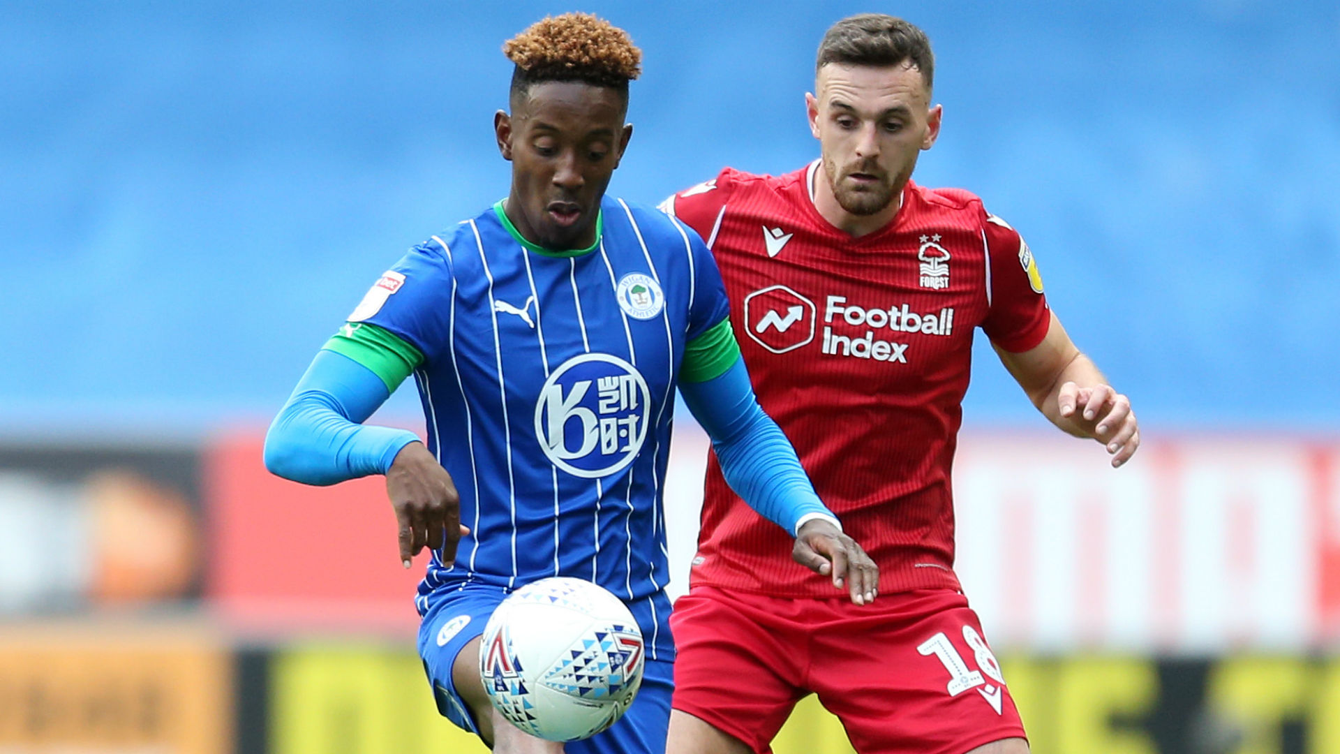 Wigan Athletic 1-0 Nottingham Forest: Lowe opens account to end unbeaten run