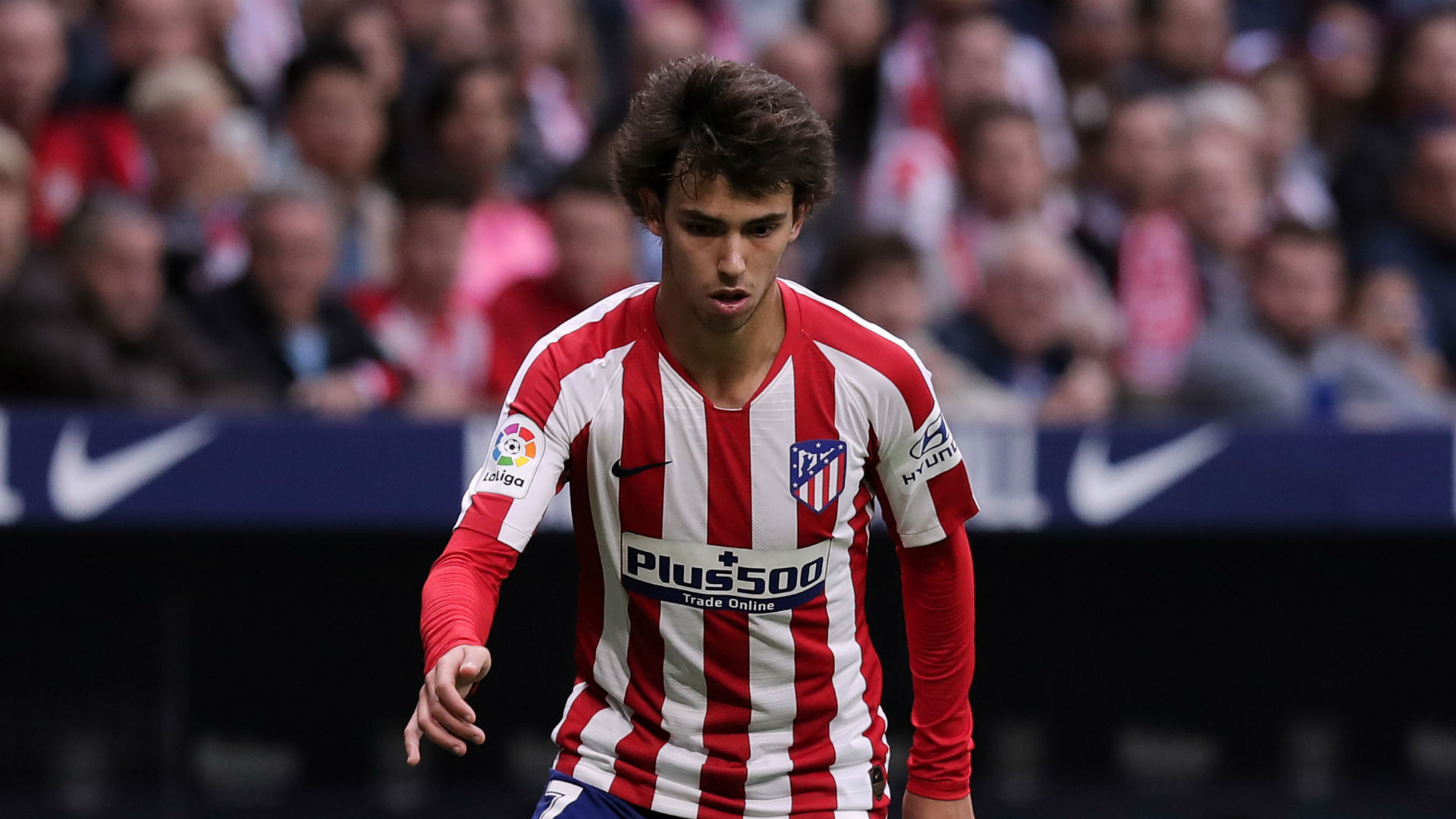 Atletico Madrid's Joao Felix set for spell out with sprained ankle ligament