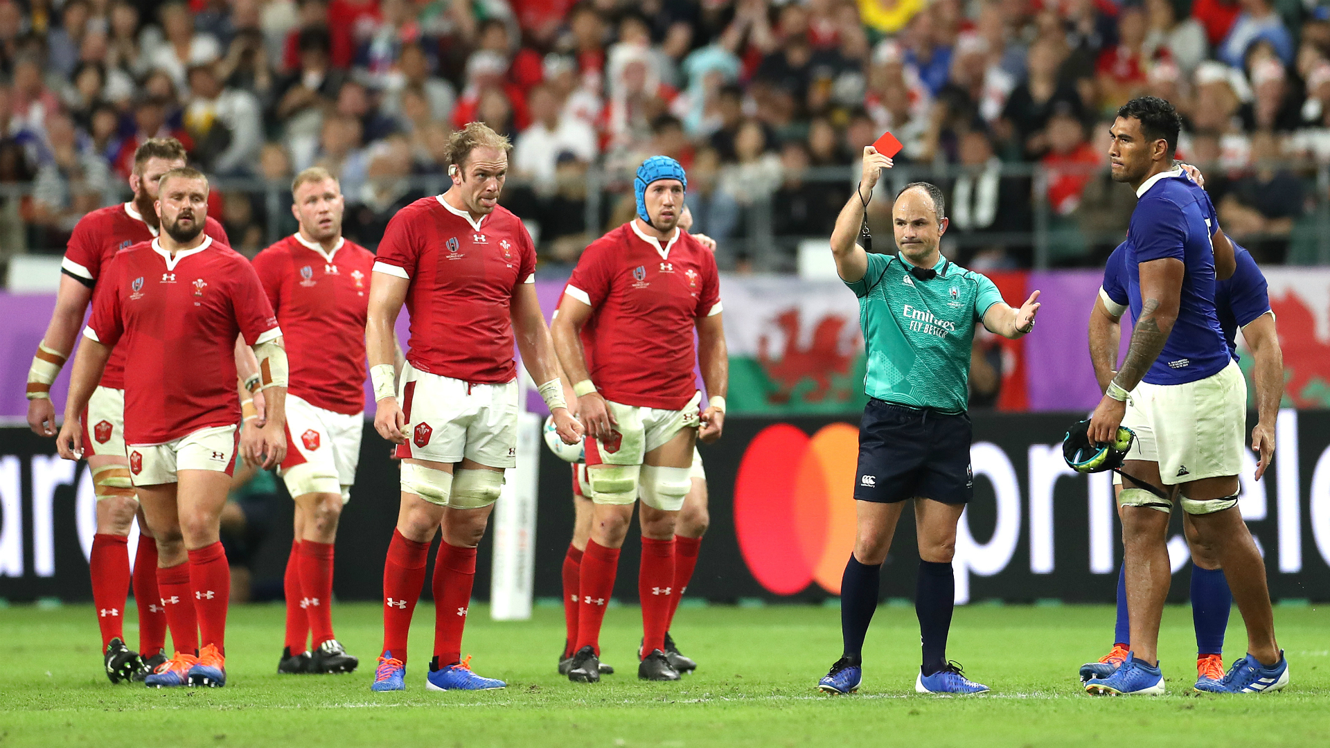 Rugby World Cup 2019: Wales 20-19 France
