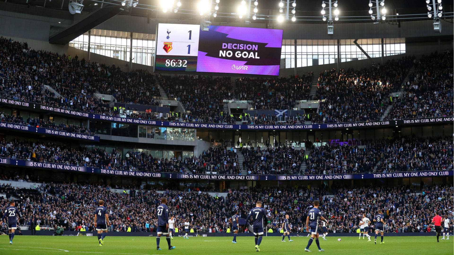 It's nothing to do with us - Pochettino explains VAR confusion over Alli equaliser