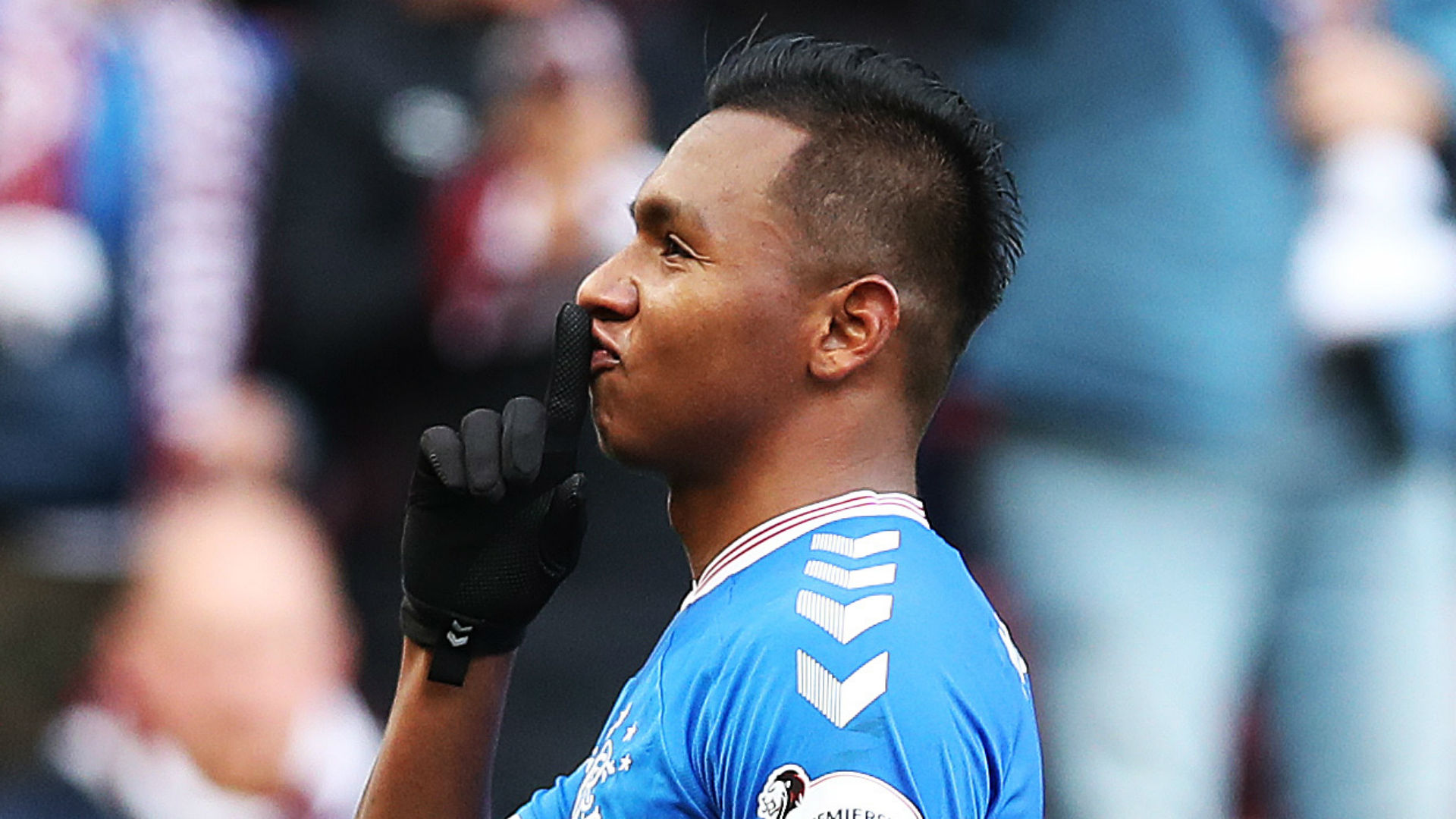 Hearts open investigation after Rangers striker Morelos allegedly suffers racist abuse