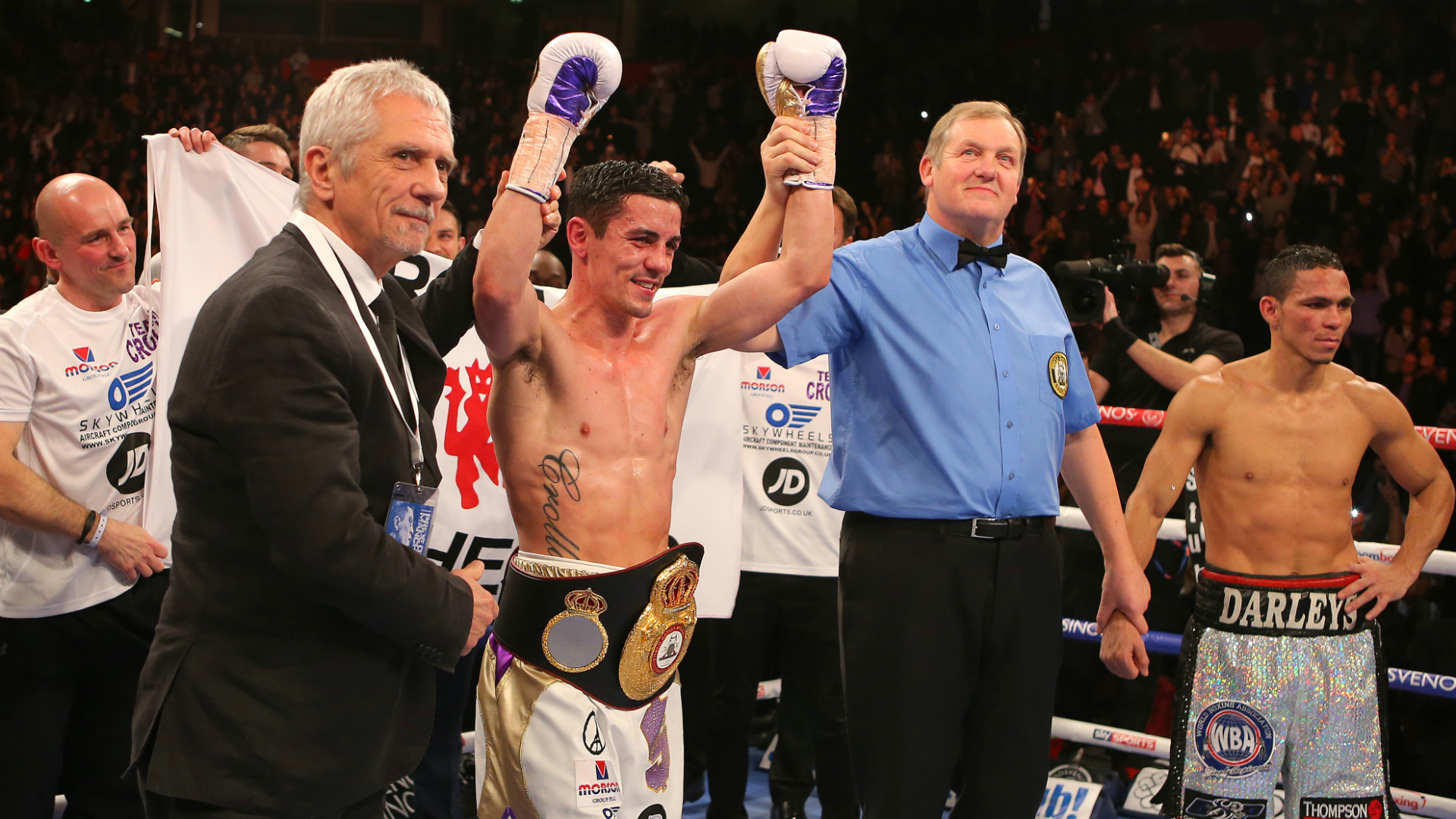 Anthony Crolla set for Manchester farewell against Frank Urquiaga