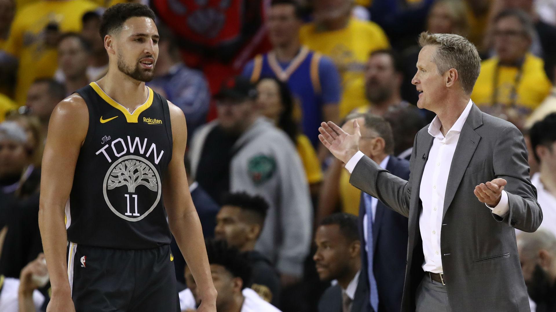 Warriors star Klay Thompson 'unlikely' to play this season, says Steve Kerr