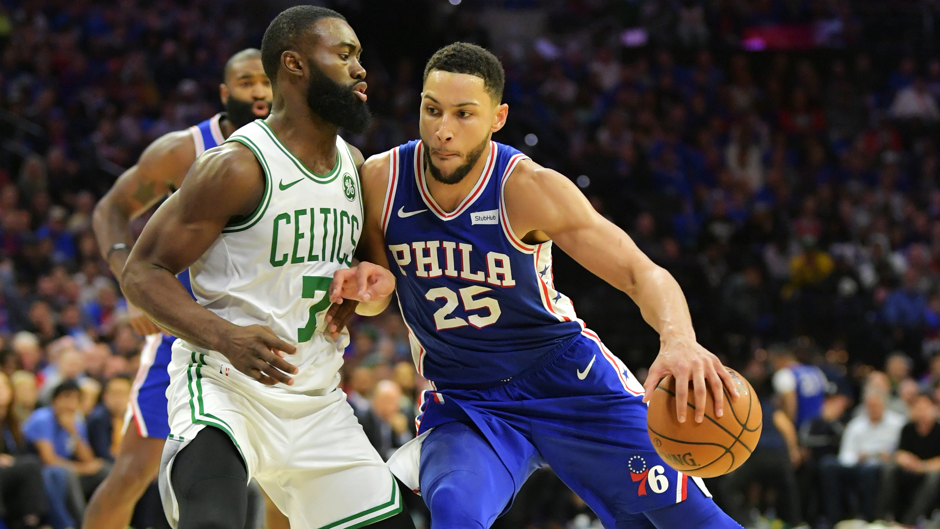 76ers too good for Celtics, Timberwolves spoil Irving's memorable debut