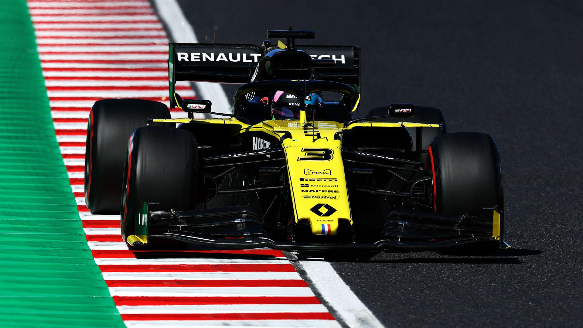 Ricciardo & Hulkenberg disqualified from Japanese GP
