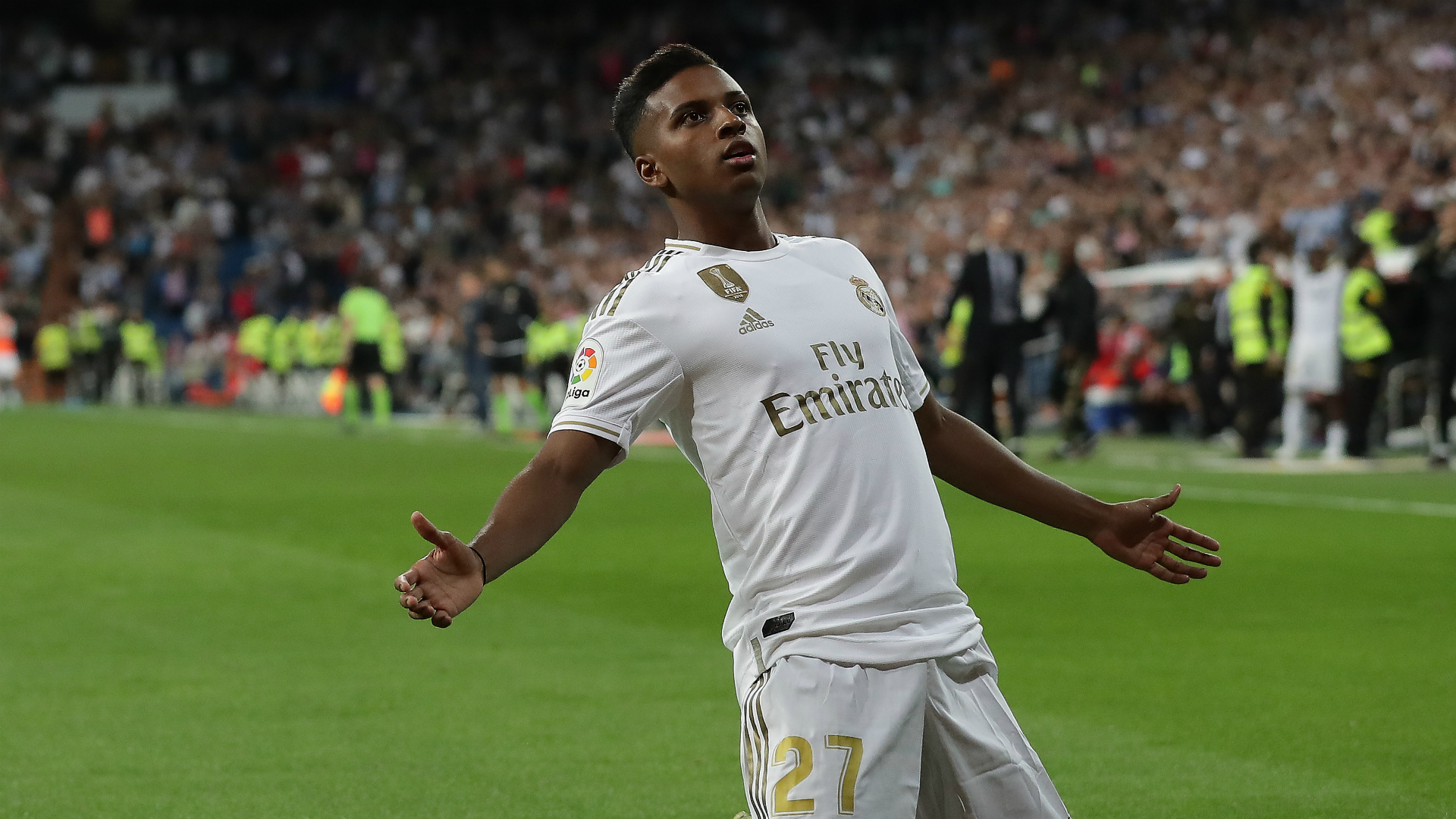 Real Madrid youngster Rodrygo earns first call-up to Brazil squad