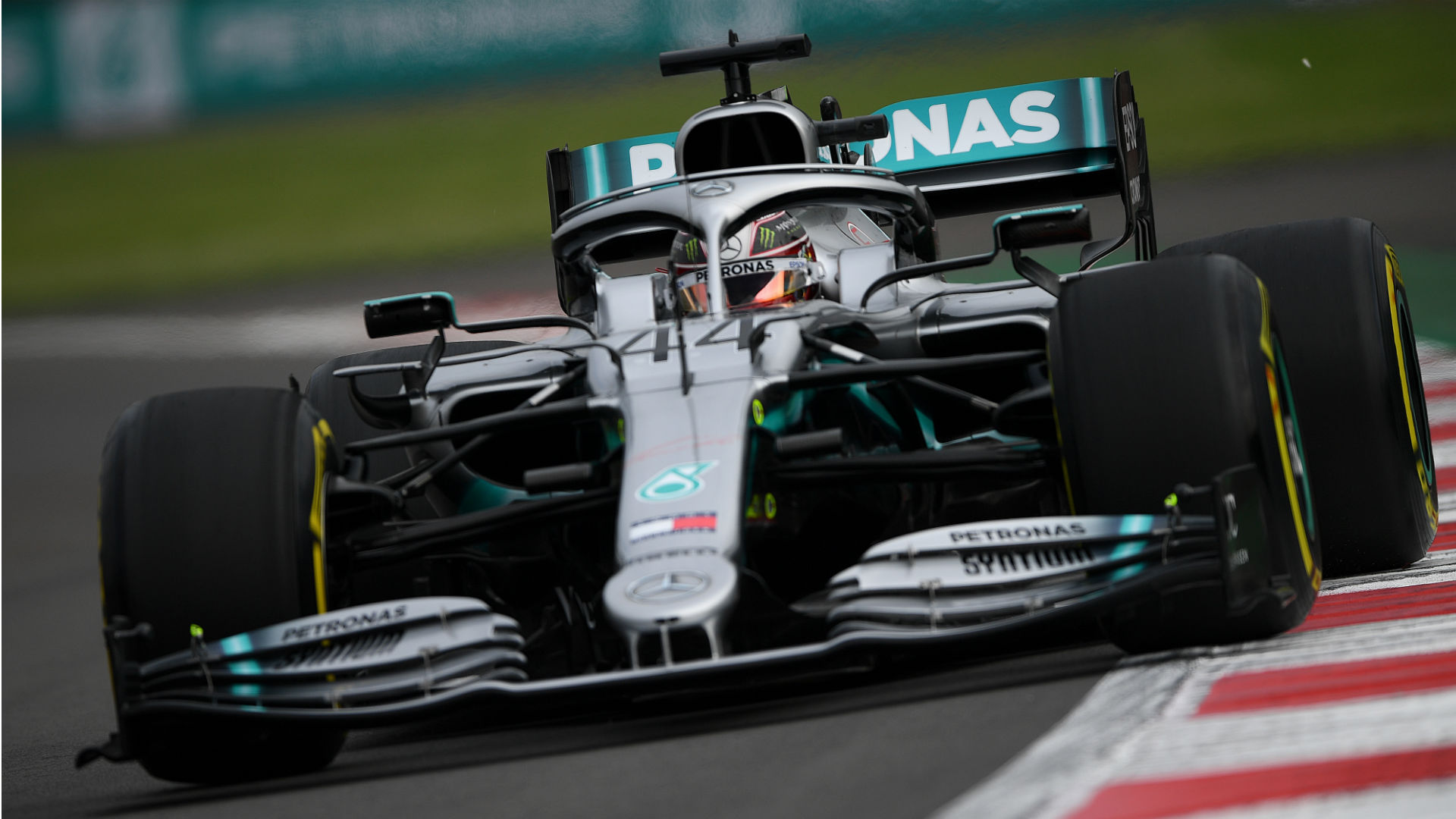 Title-chasing Hamilton fifth fastest as Vettel sets Mexico practice pace