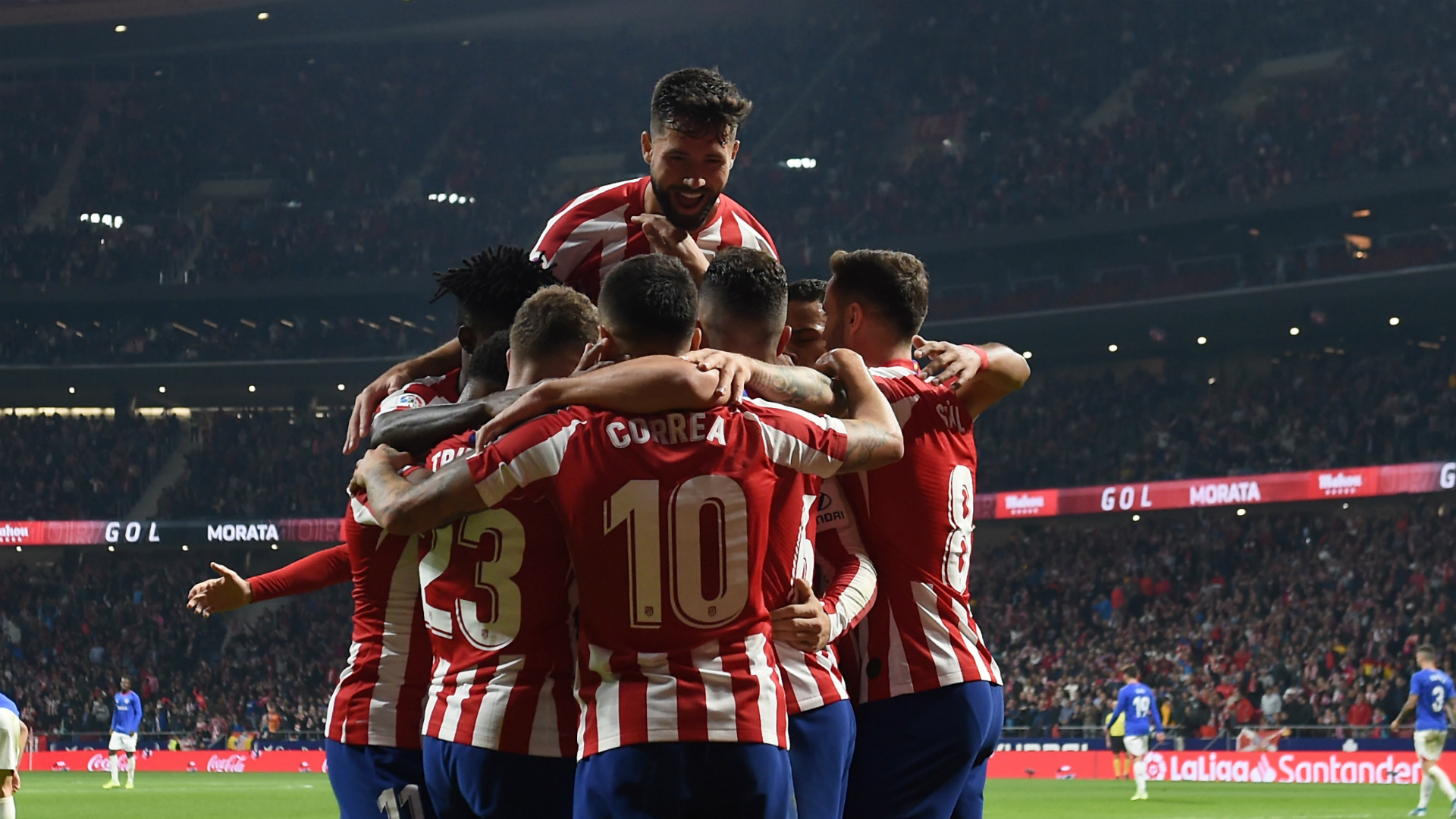 Simeone calls for Atletico unity after returning to winning ways in LaLiga