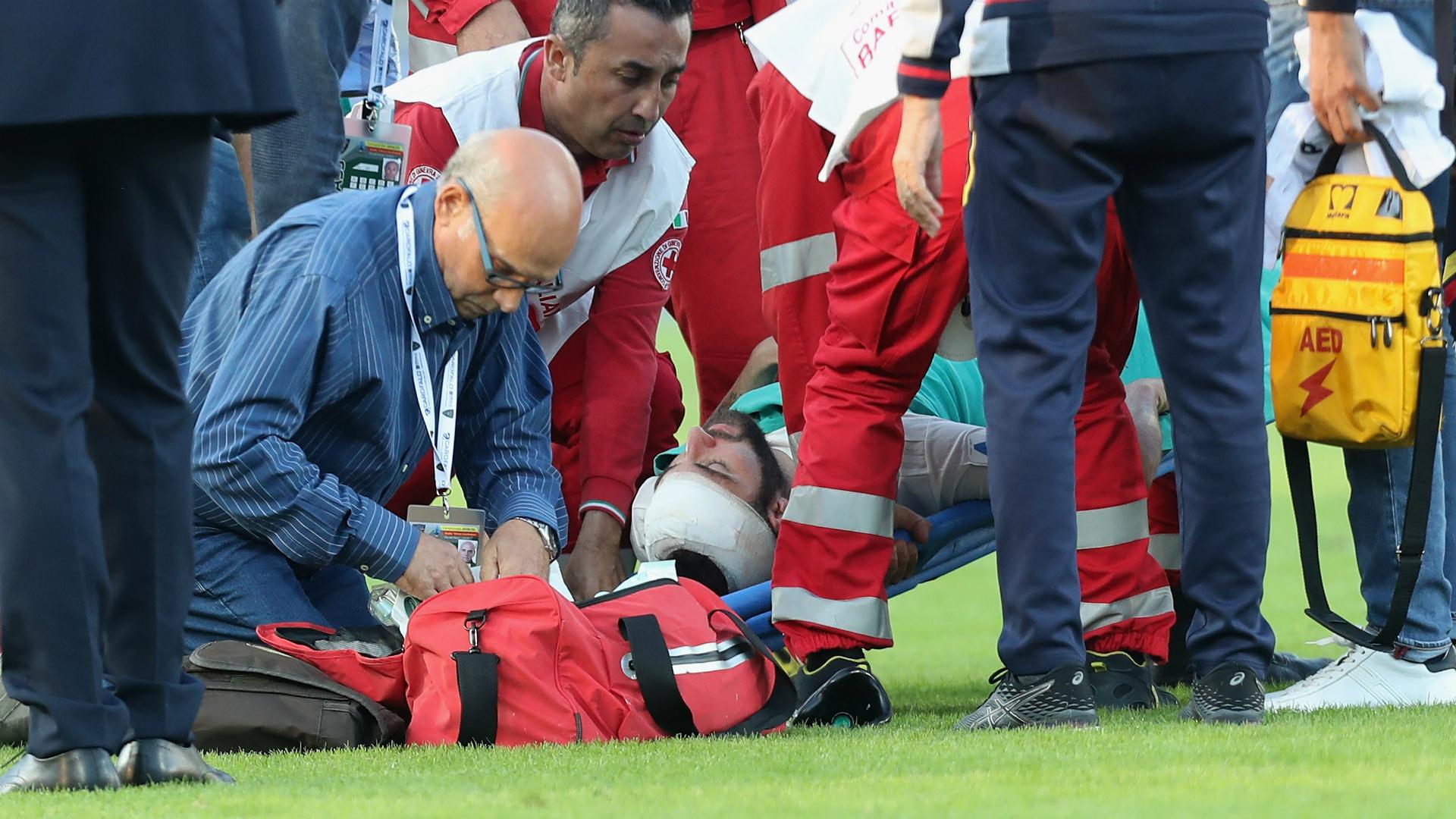 Higuain conscious and alert after heavy head knock, Sarri confirms