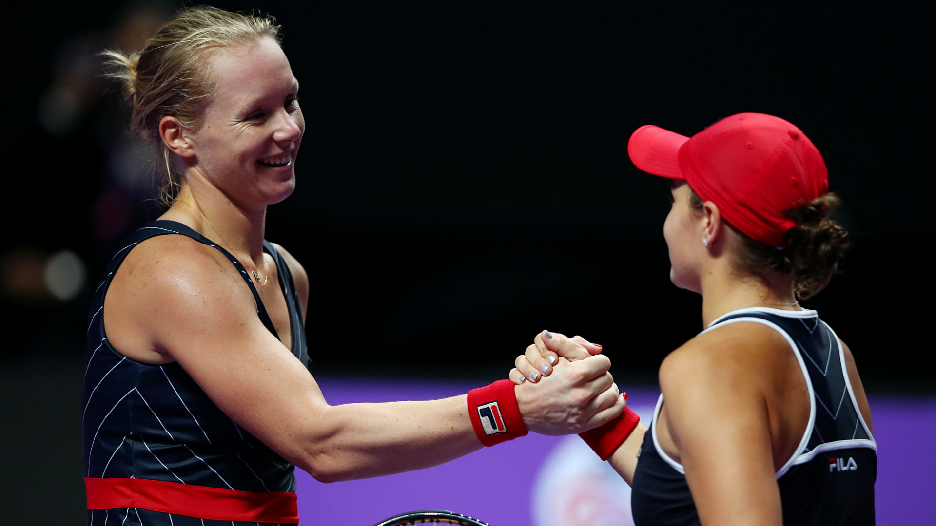 Number one Barty beaten by last-gasp Osaka replacement Bertens at WTA Finals