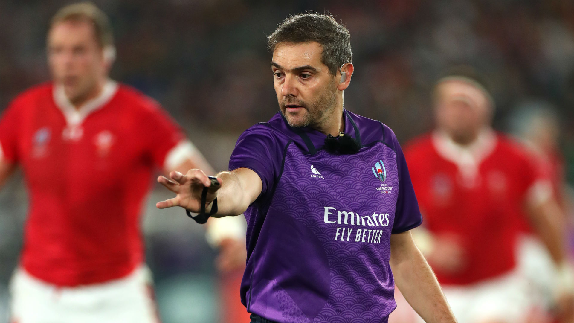 Rugby World Cup 2019: Jerome Garces to ref England-South Africa final