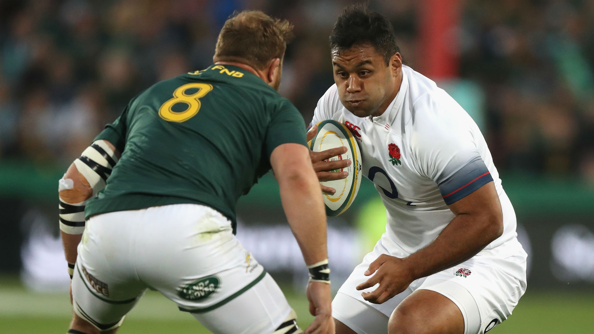 Rugby World Cup 2019: England star Vunipola tells Springboks to 'bring it on'