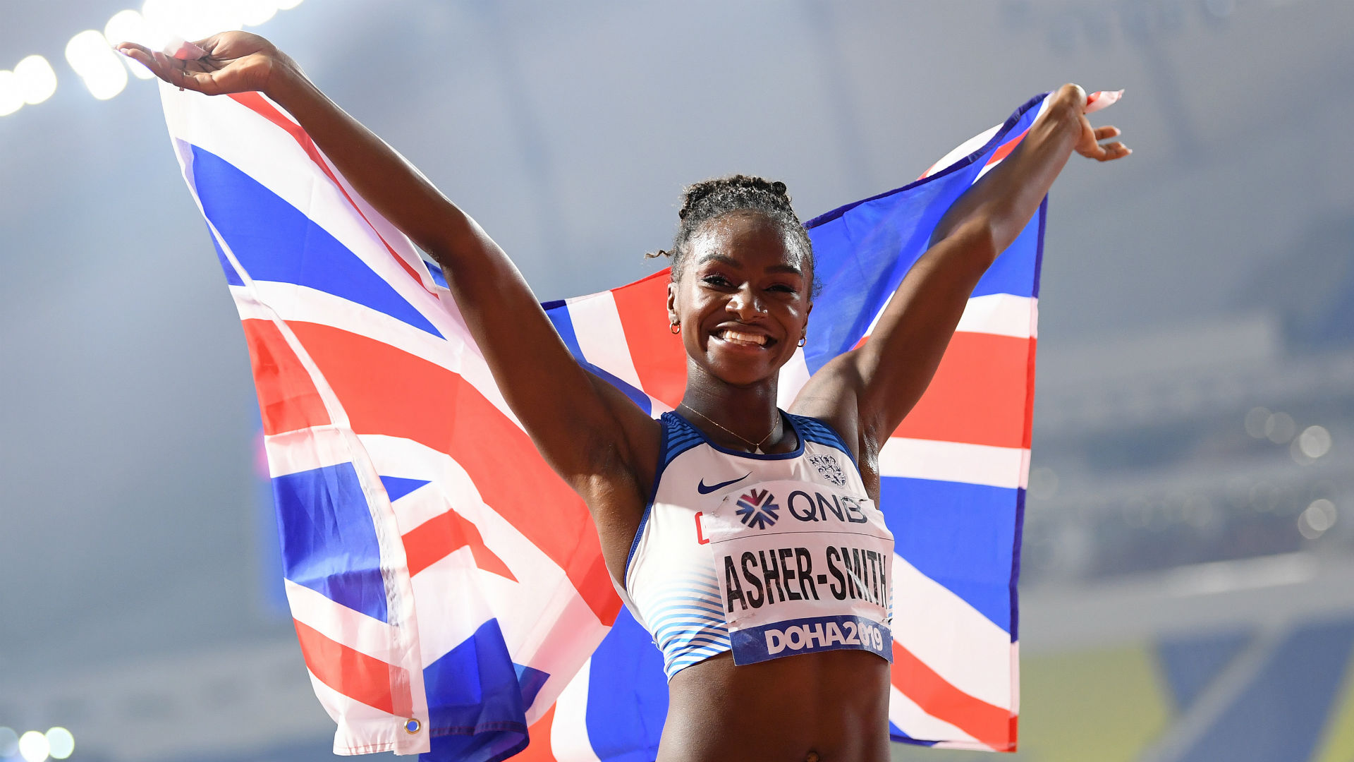 World Athletics Championships: Asher-Smith surges to 200m title