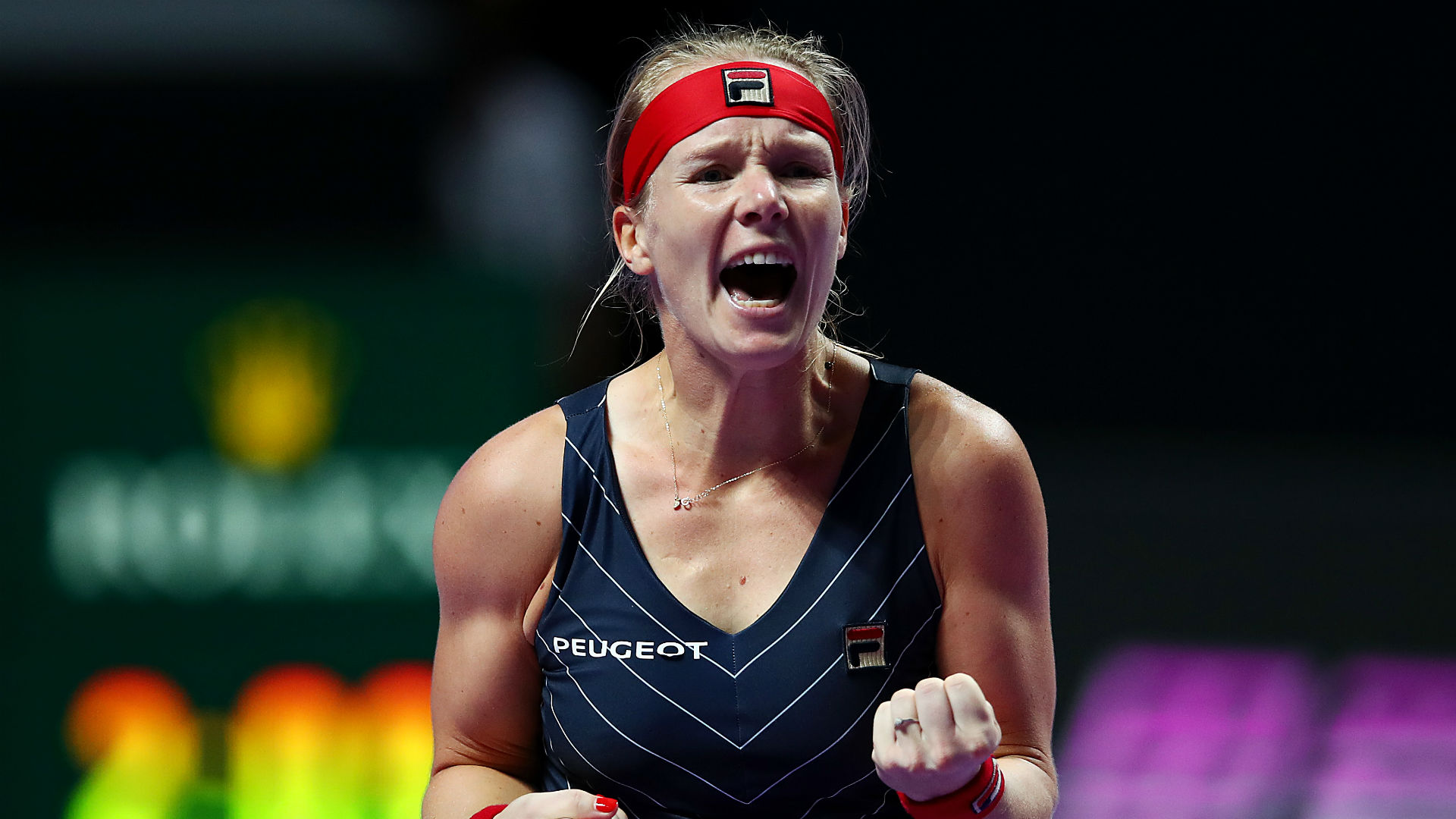 Bertens: I was okay on the couch!