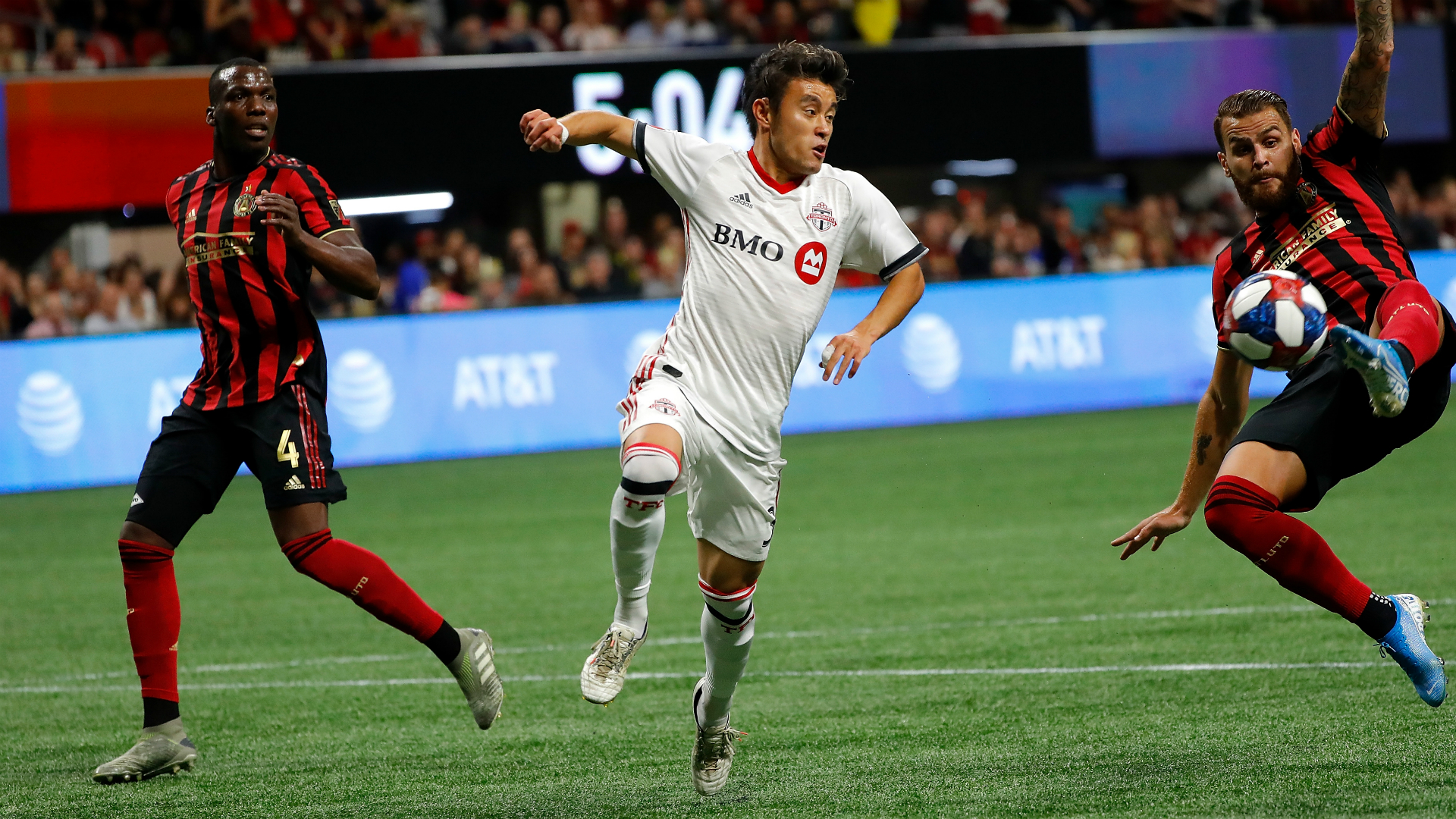 Atlanta United 1-2 Toronto: Defending champs beaten as visitors advance to MLS Cup final