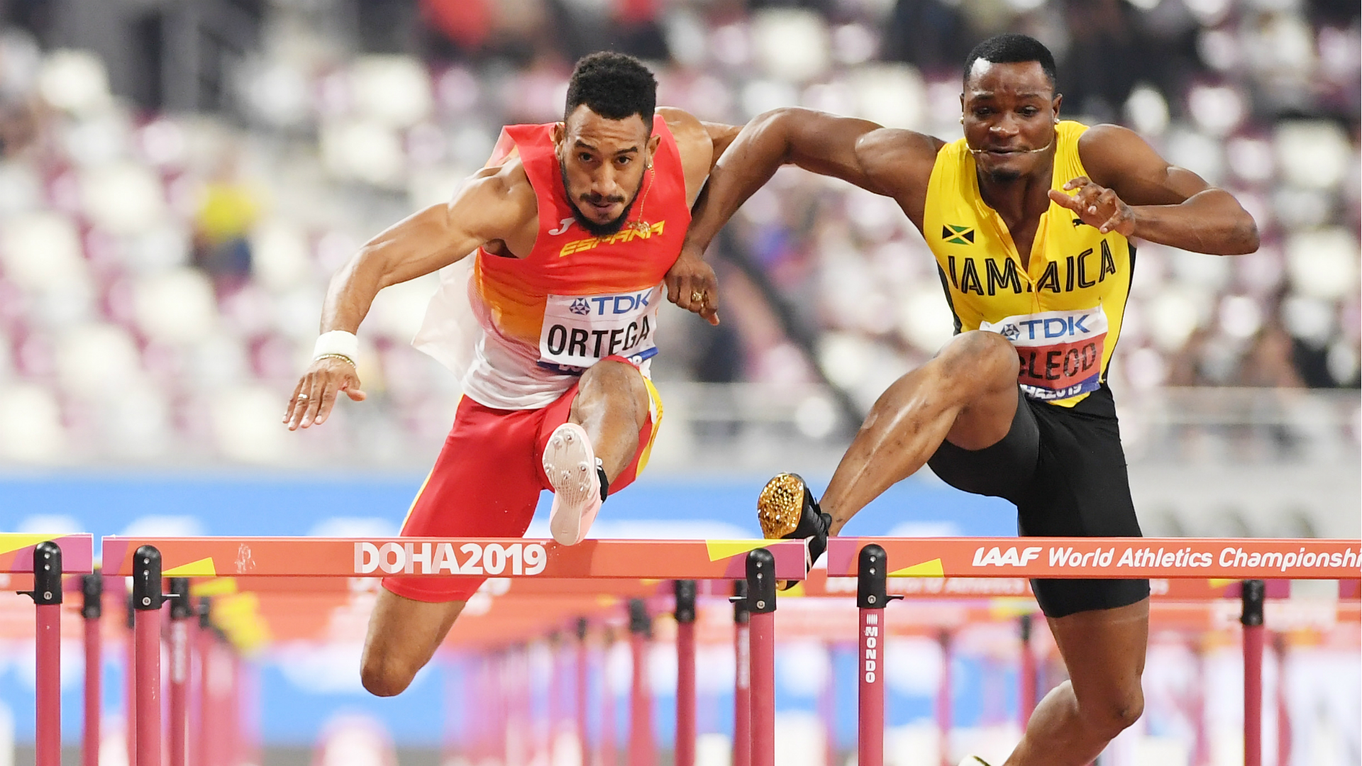 Hurdles star lands dramatic medal reprieve at World Athletics Championships