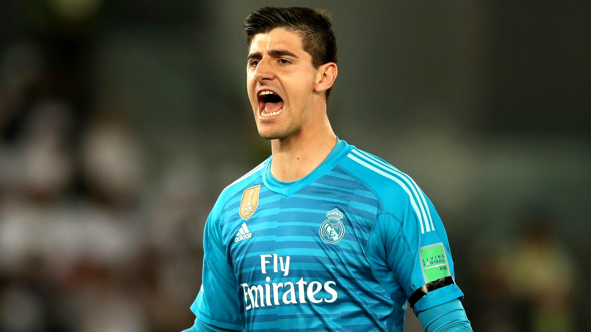 Real Madrid deny reports of Courtois anxiety problem