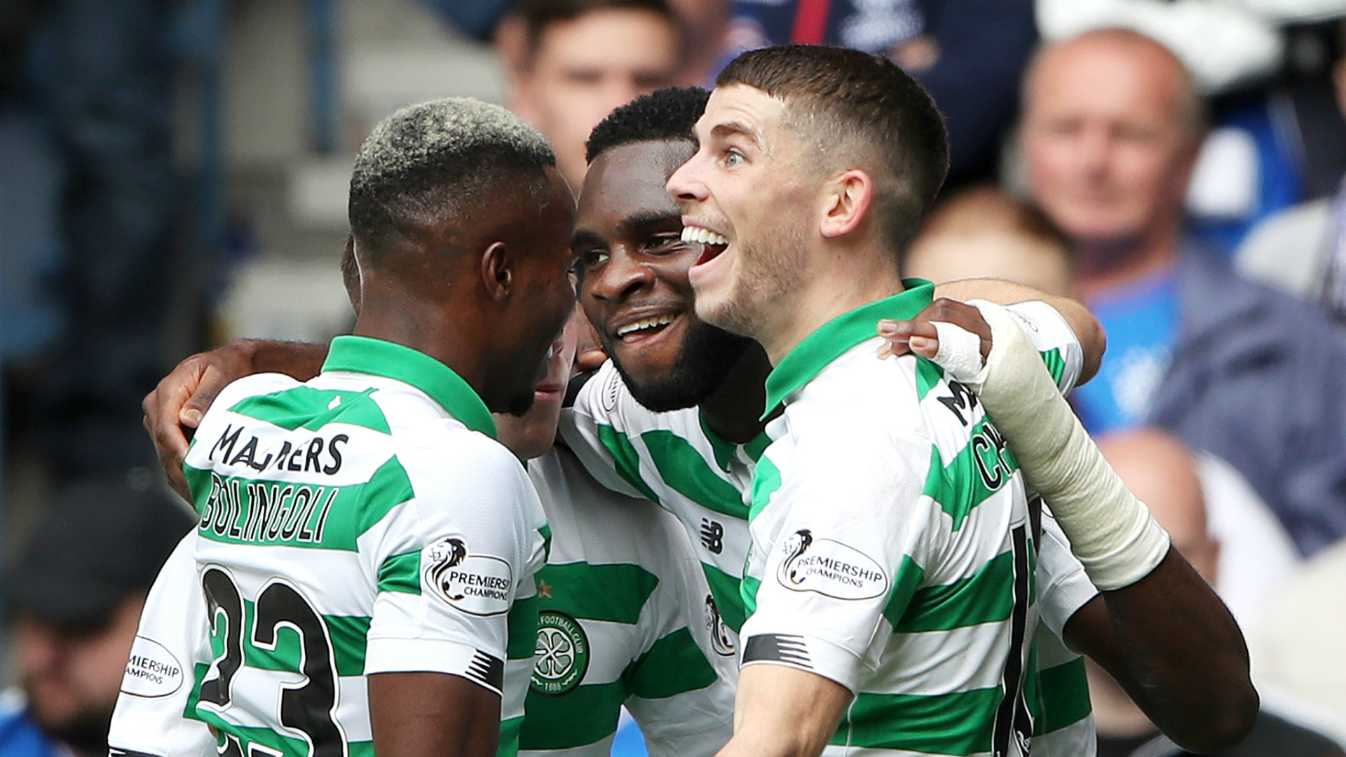 Rangers 0-2 Celtic: Edouard sets up Old Firm success for Hoops