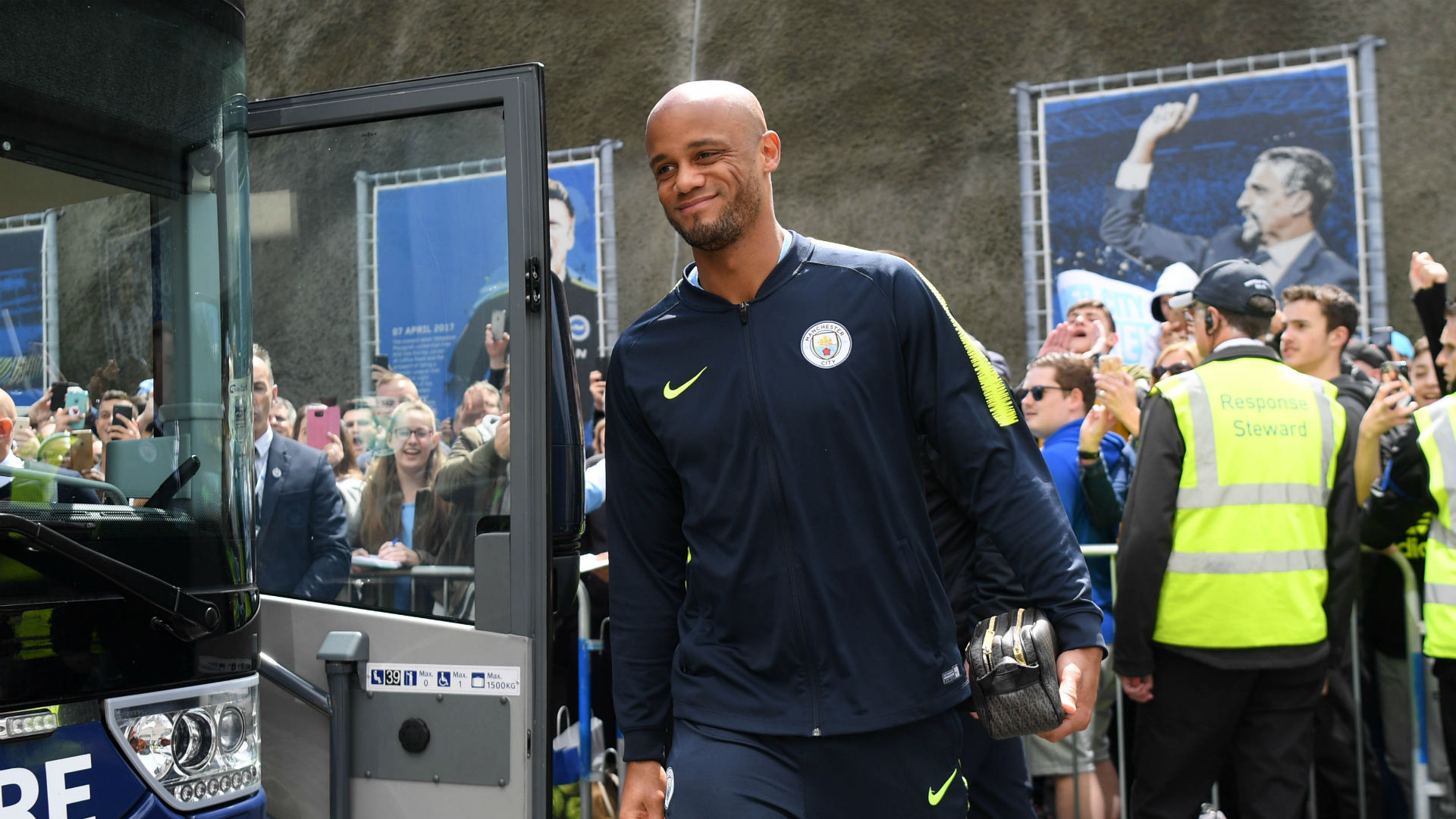 Typical of me, right? - Kompany to miss testimonial with injury