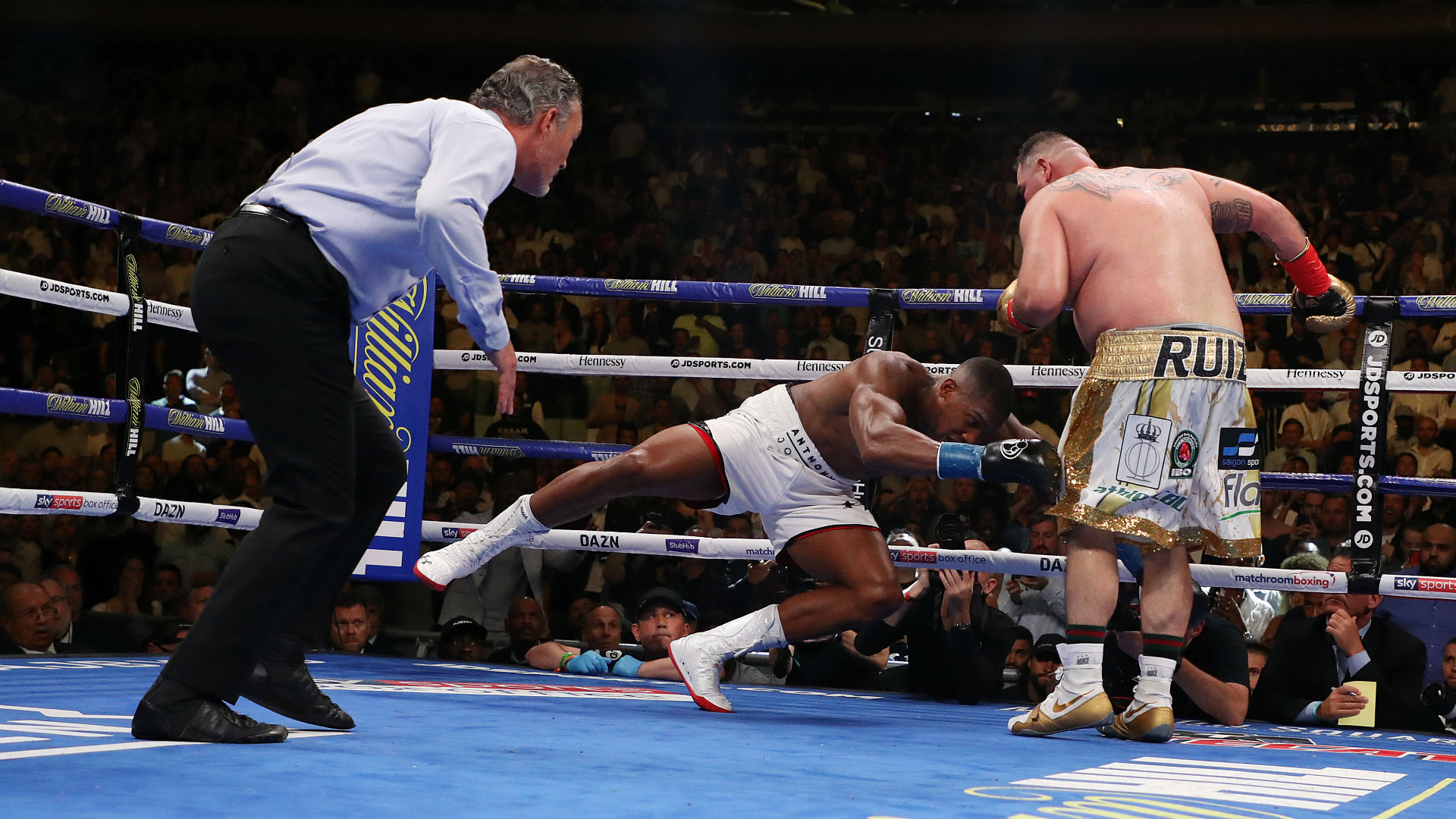 Anthony Joshua's trainer admits he knew heavyweight was concussed in Andy Ruiz Jr. fight