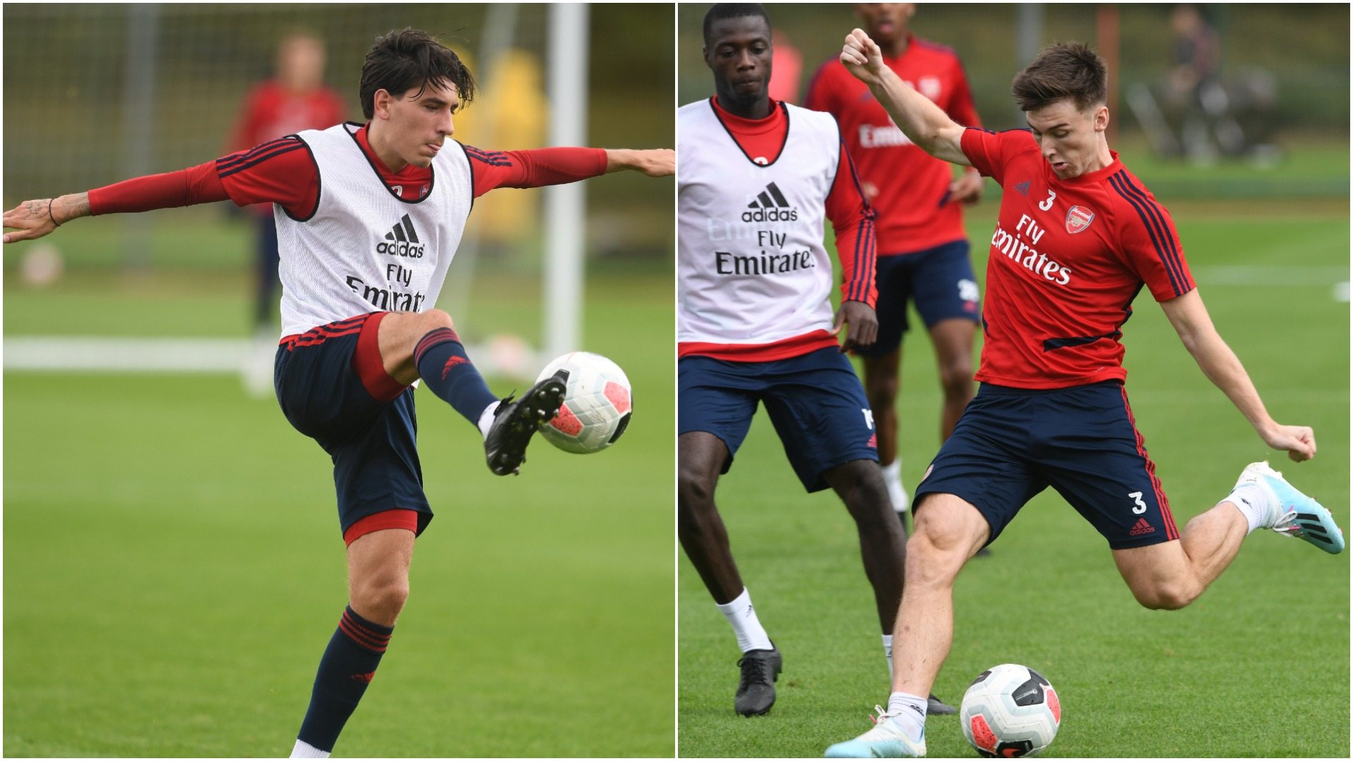 Bellerin and Tierney still at least a week away, says Arsenal coach Emery