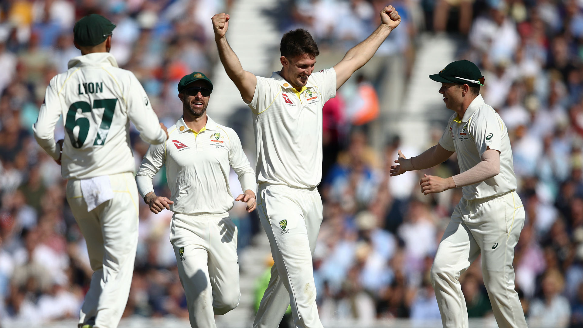Ashes 2019: England all out for 294, Warner fails again
