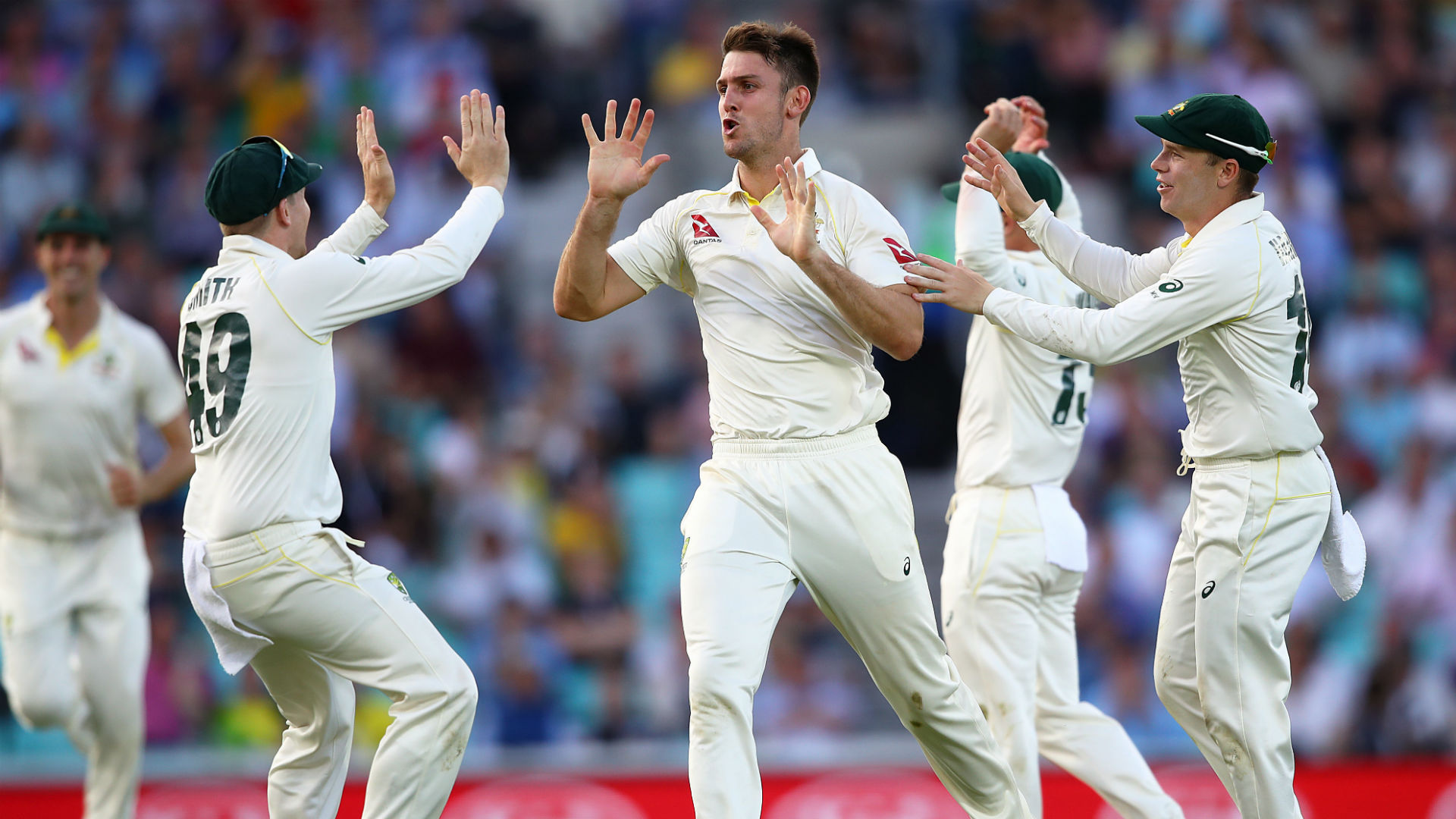 Ashes 2019: Buttler holds up Australia after Marsh makes his mark