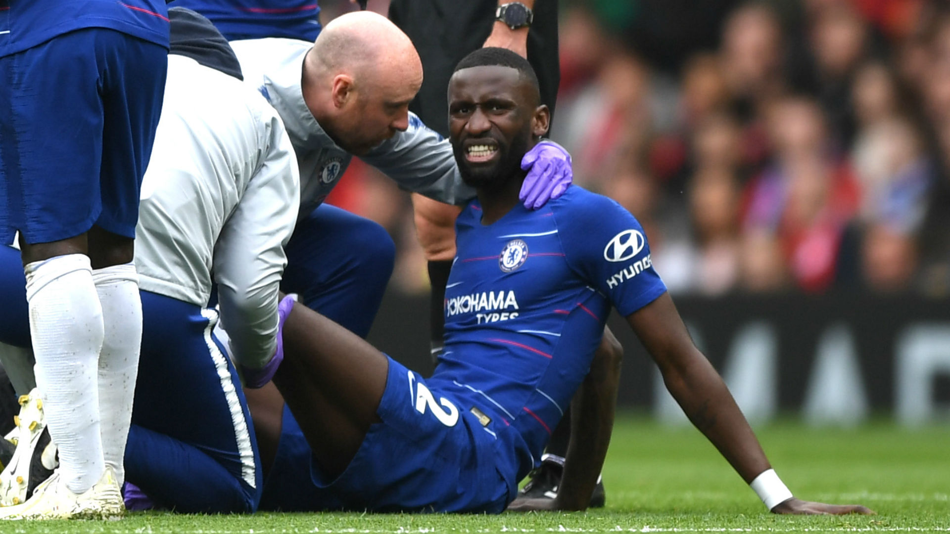 Rudiger ready to return from injury, confirms Chelsea boss Lampard