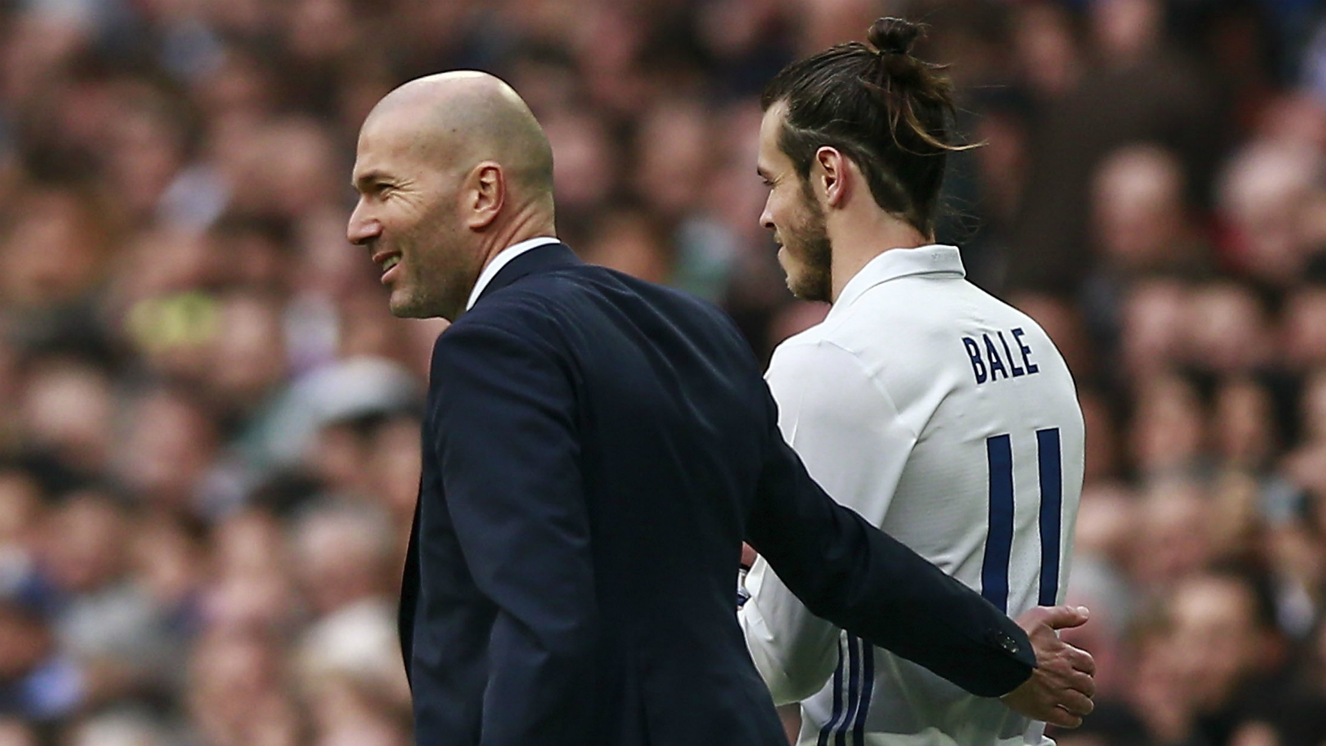 Madrid boss Zidane rejects Bale's scapegoat claim