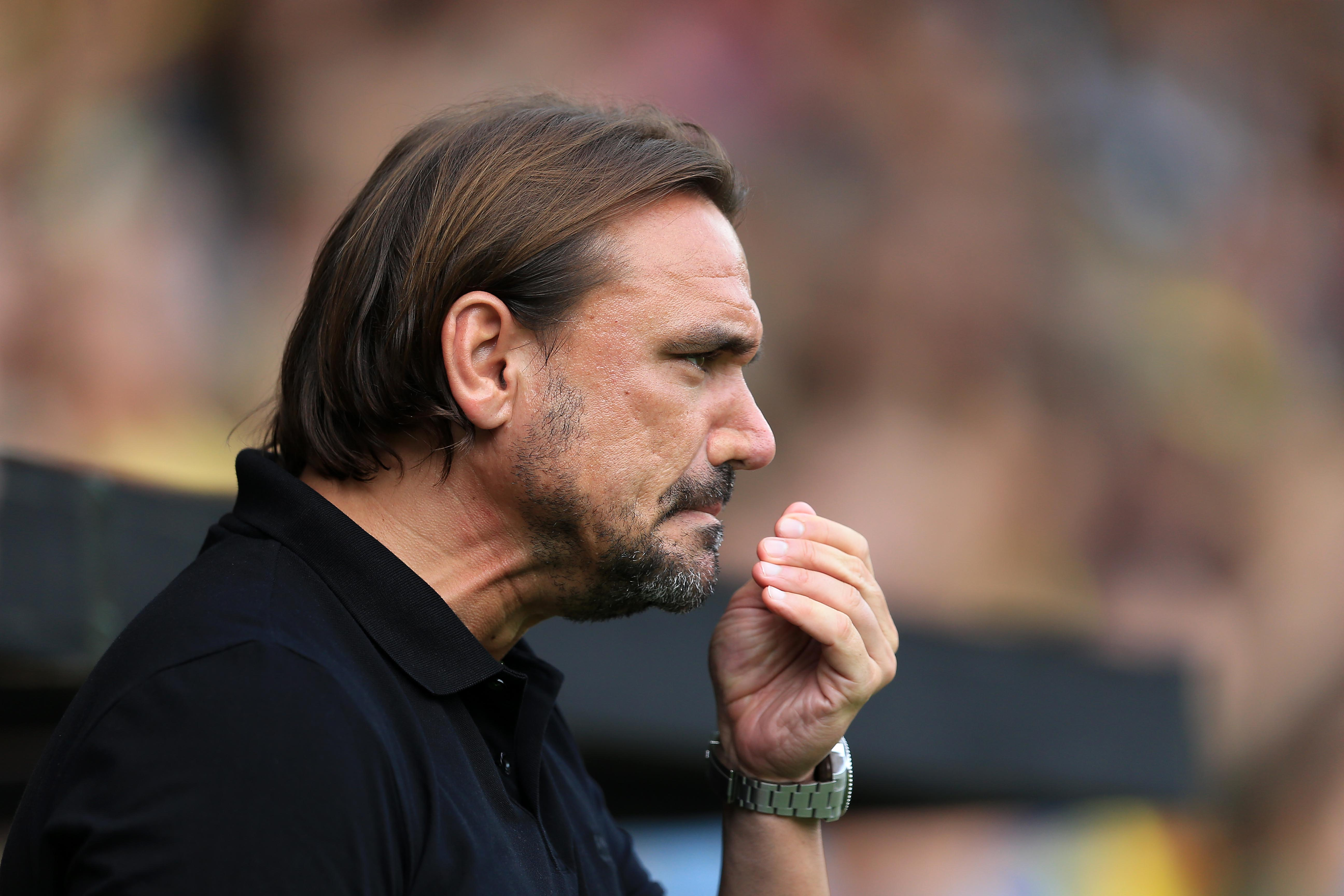 Farke the bus? Canaries boss says defensive approach impossible for depleted Norwich against Man City