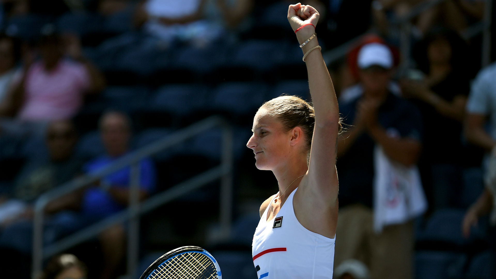 Pliskova doubles up in Zhengzhou, Mladenovic topples Svitolina